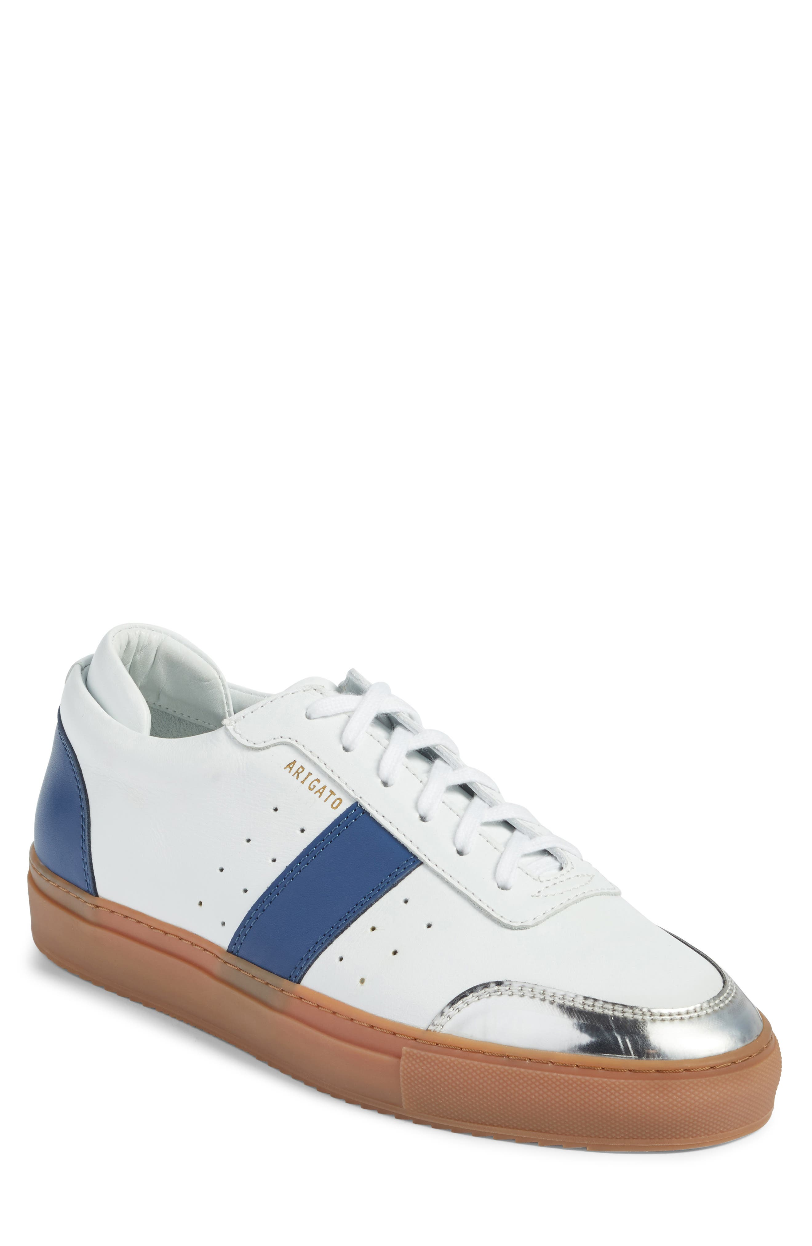 Dunk Sneaker,                         Main,                         color, White/ Navy