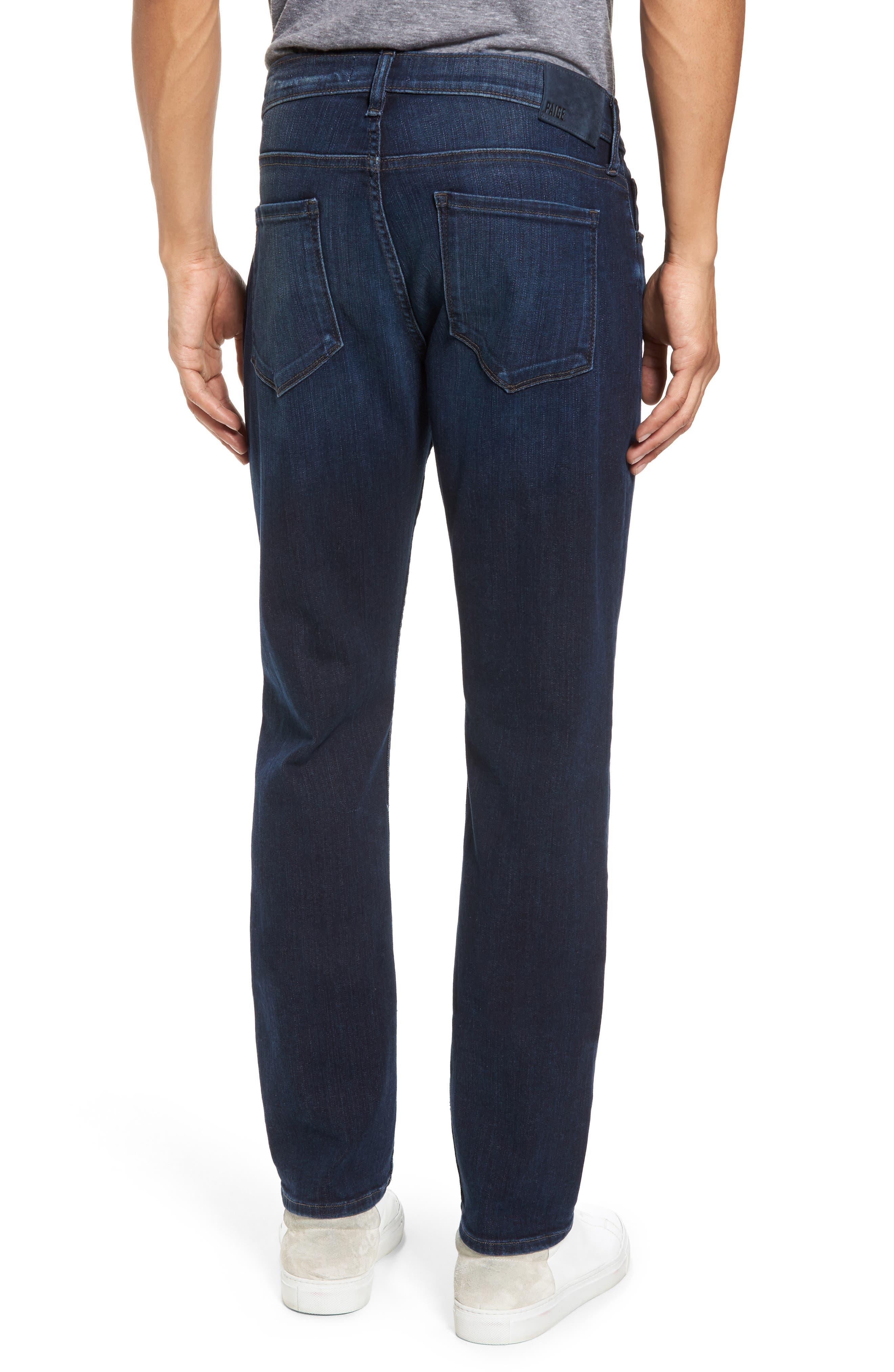Transcend - Federal Slim Straight Leg Jeans,                             Alternate thumbnail 2, color,                             Graham