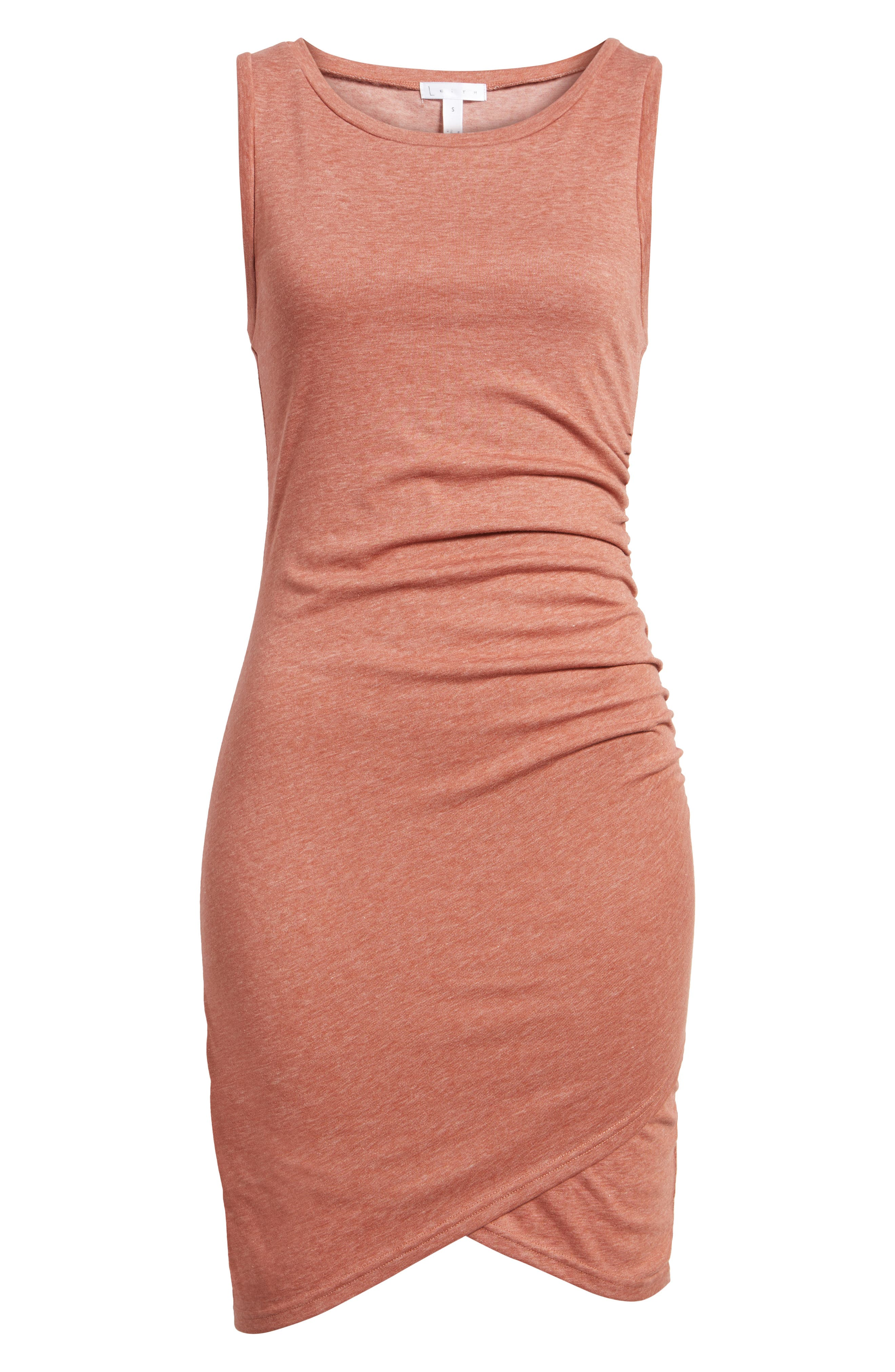 Alternate Image 6  - Leith Ruched Body-Con Tank Dress