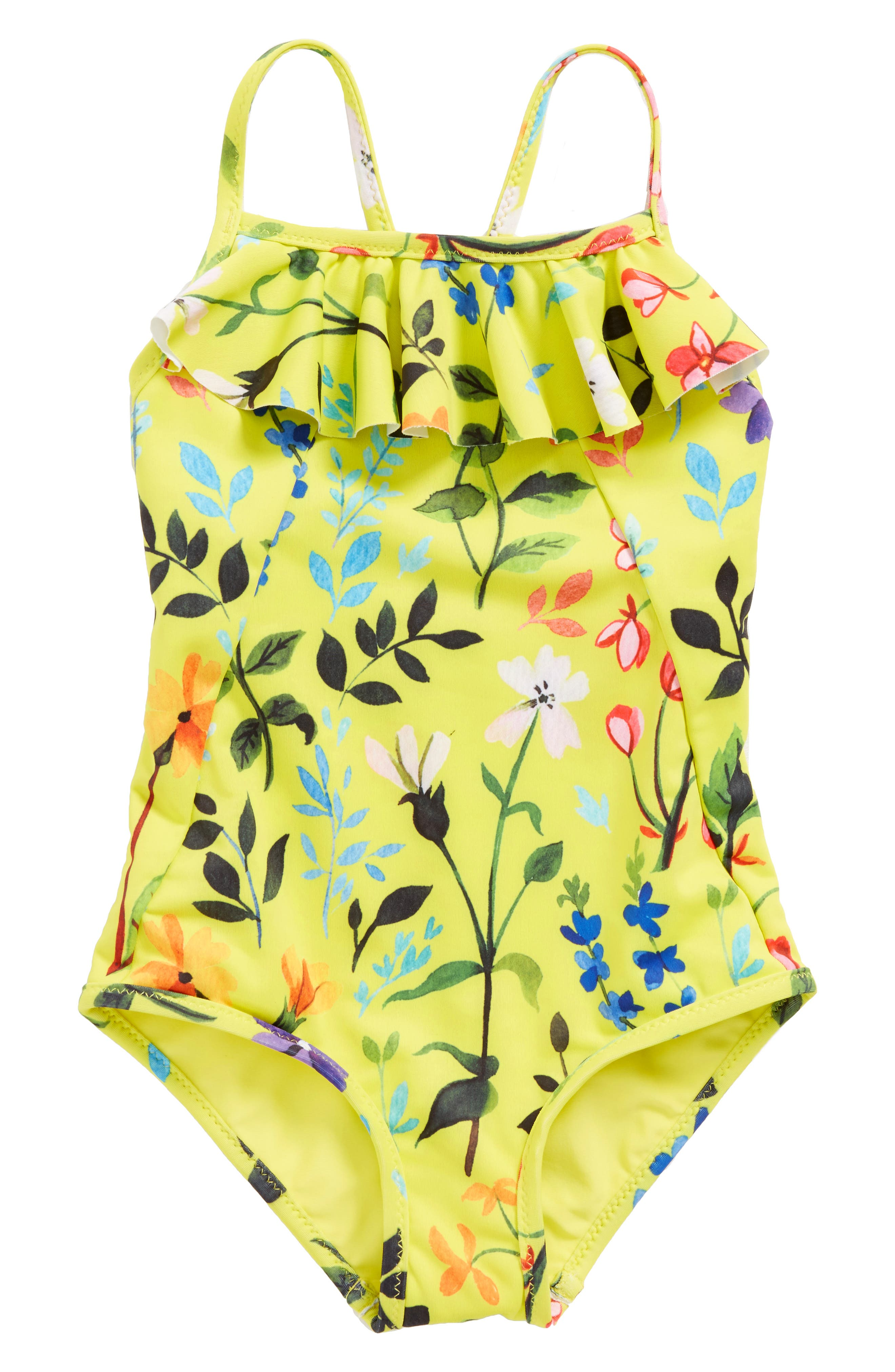 Springfield One-Piece Swimsuit,                         Main,                         color, Sunshine