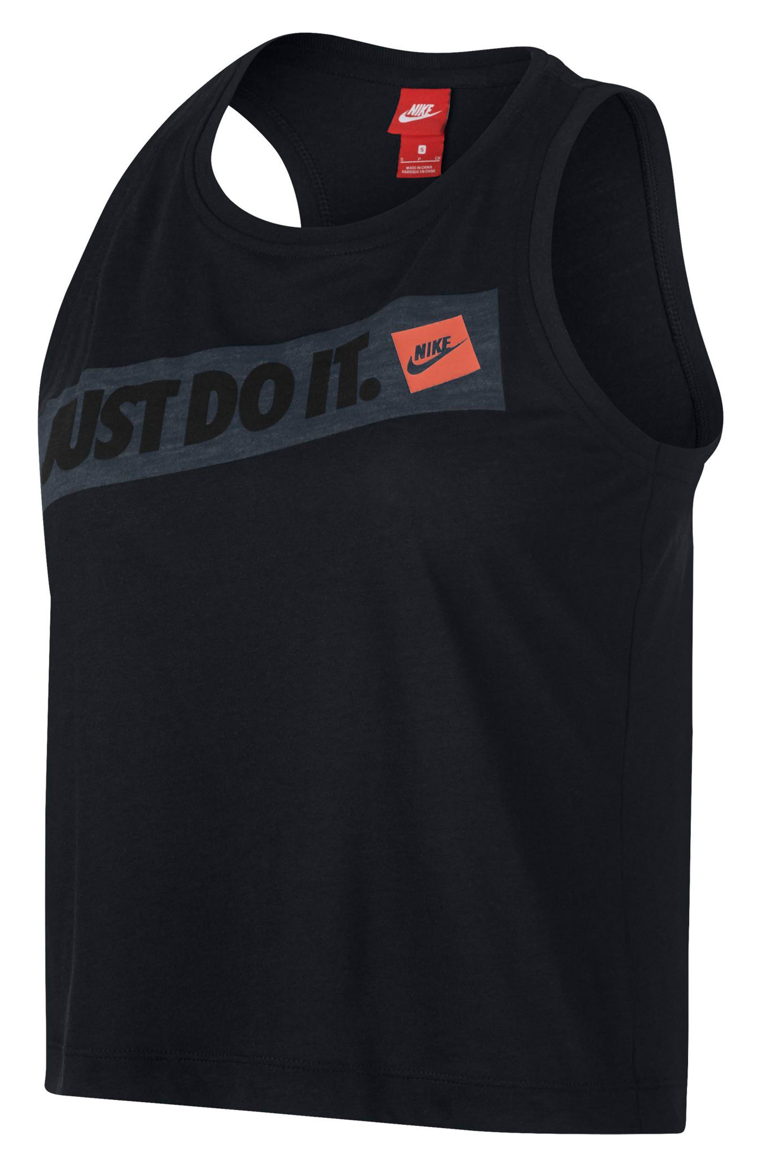 Sportswear Women's Just Do It Tank,                             Main thumbnail 1, color,                             Black