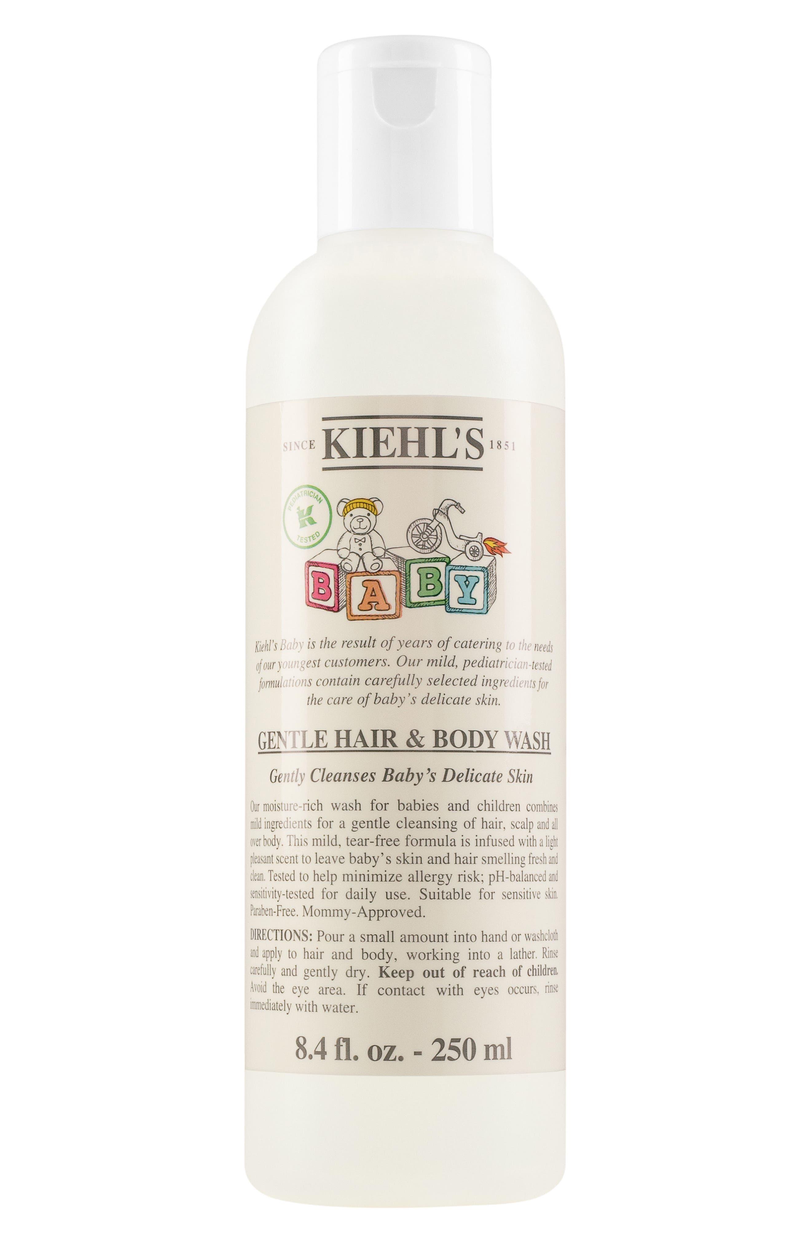 Baby Gentle Hair & Body Wash,                             Main thumbnail 1, color,                             No Color