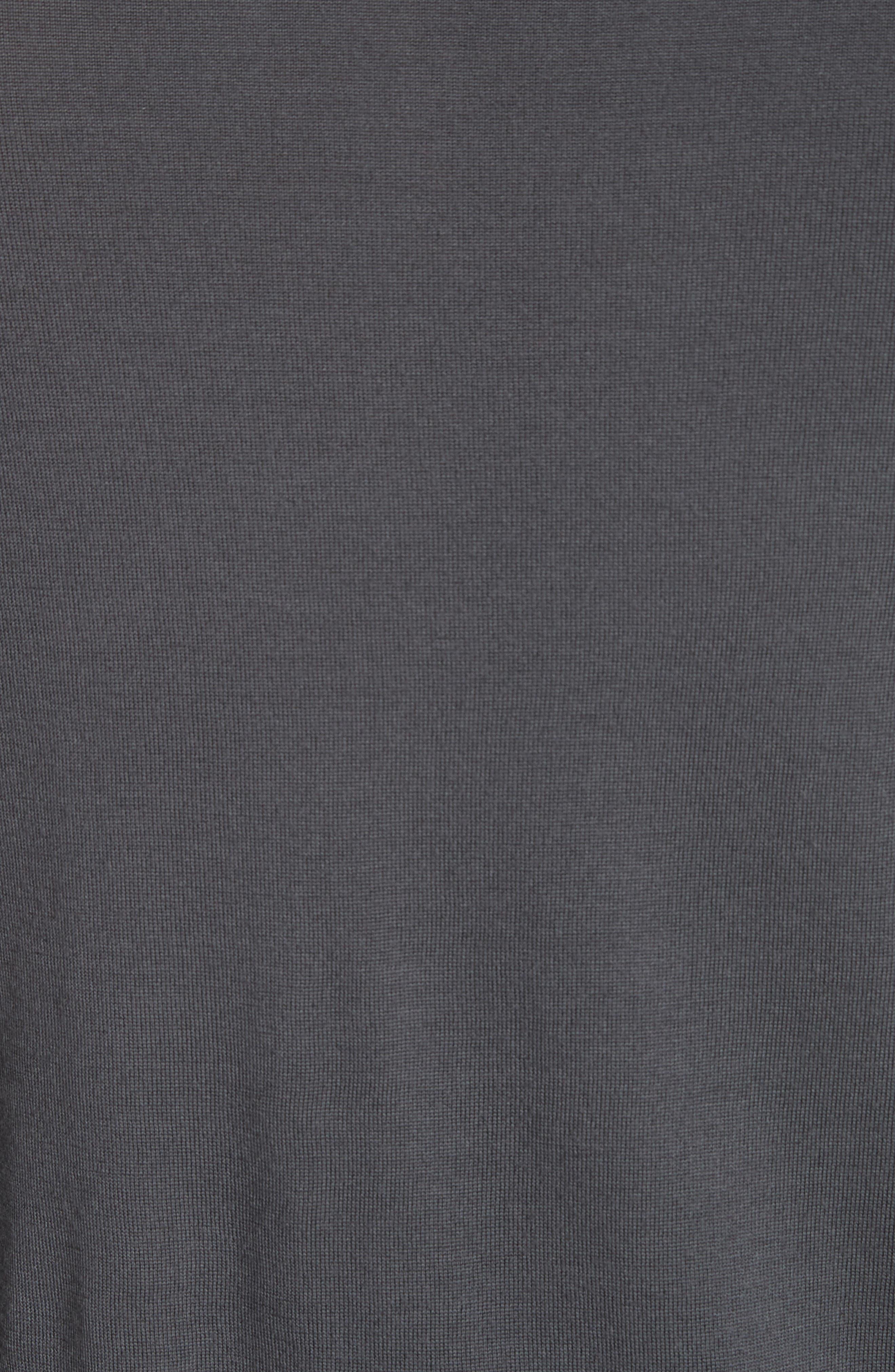 Alternate Image 5  - Emporio Armani Slim Fit Wool Sweater