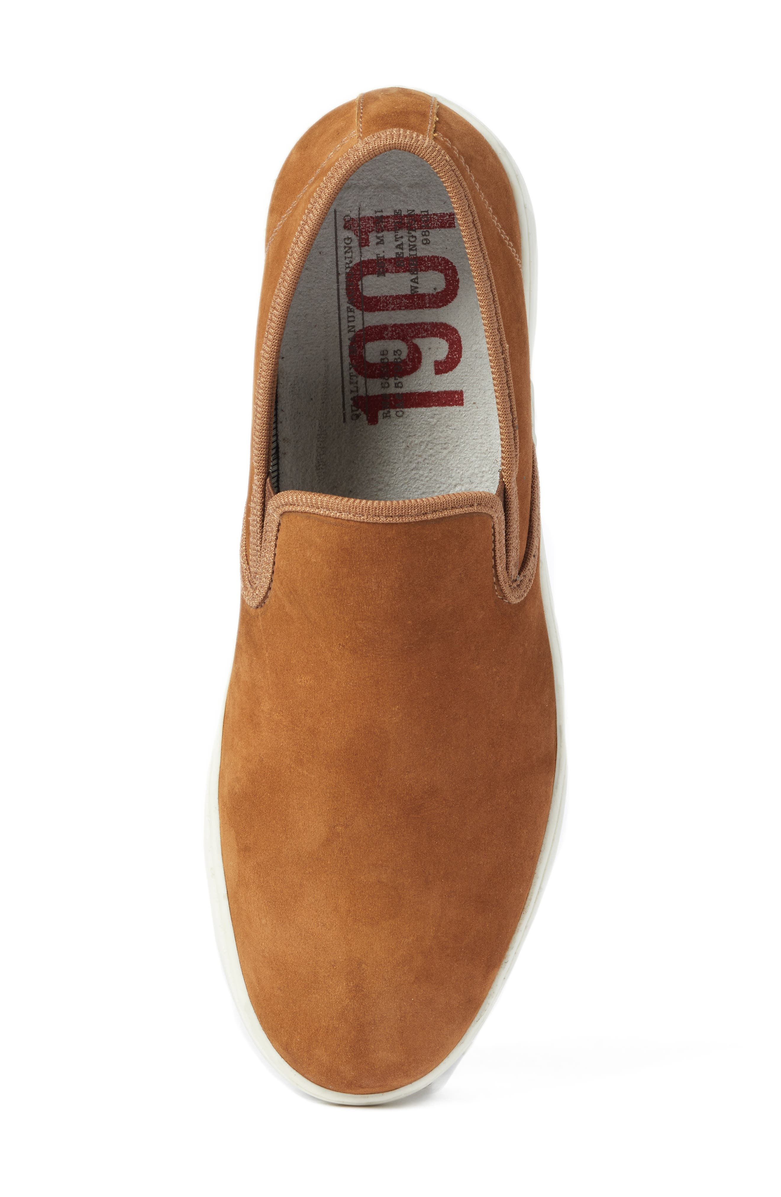 Malibu Slip-on,                             Alternate thumbnail 4, color,                             Tan Nubuck