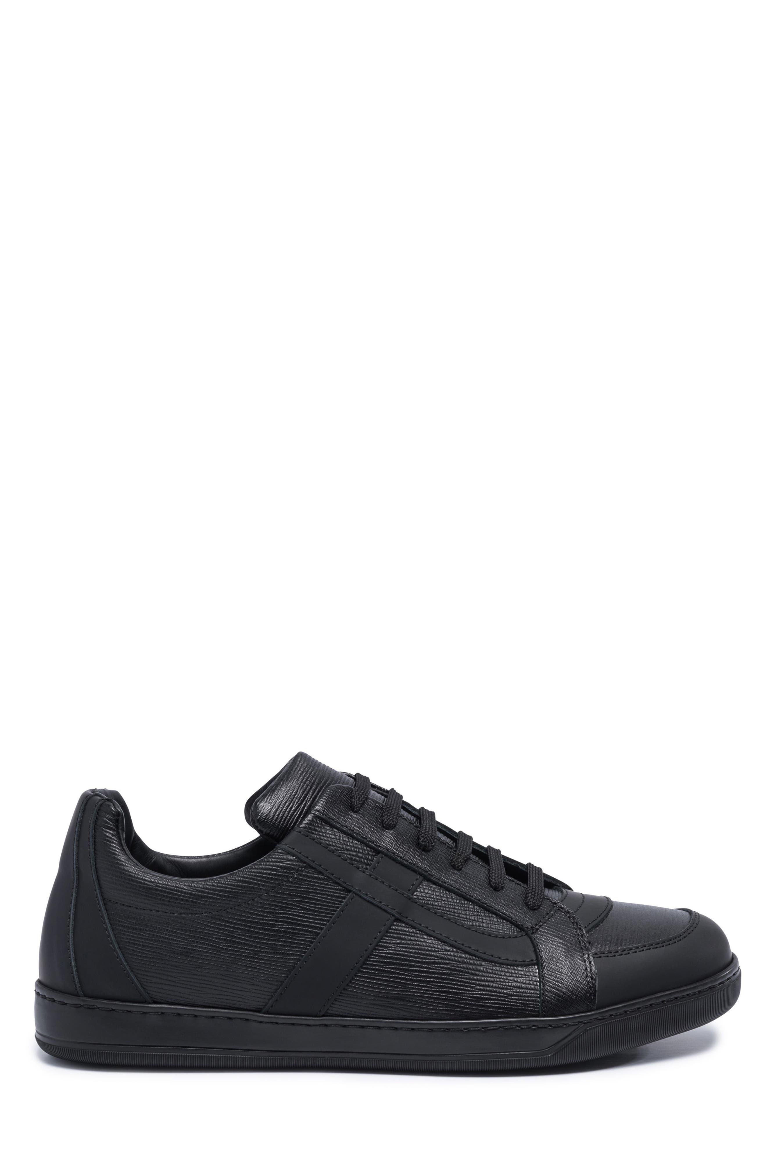 Novecento Sneaker,                             Alternate thumbnail 3, color,                             Navy Leather