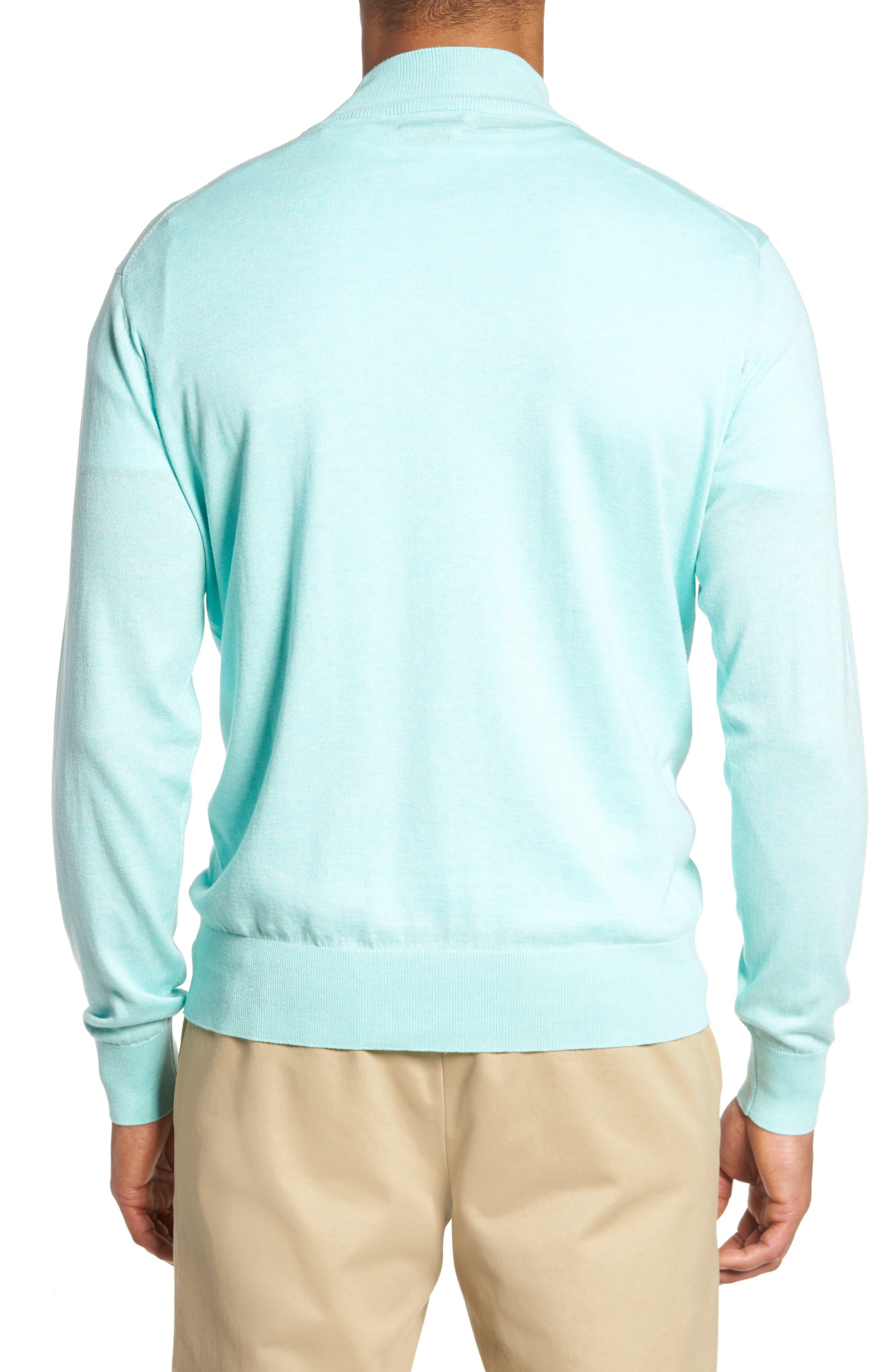 Crown Soft Quarter-Zip Pullover,                             Alternate thumbnail 2, color,                             Venetian Mist