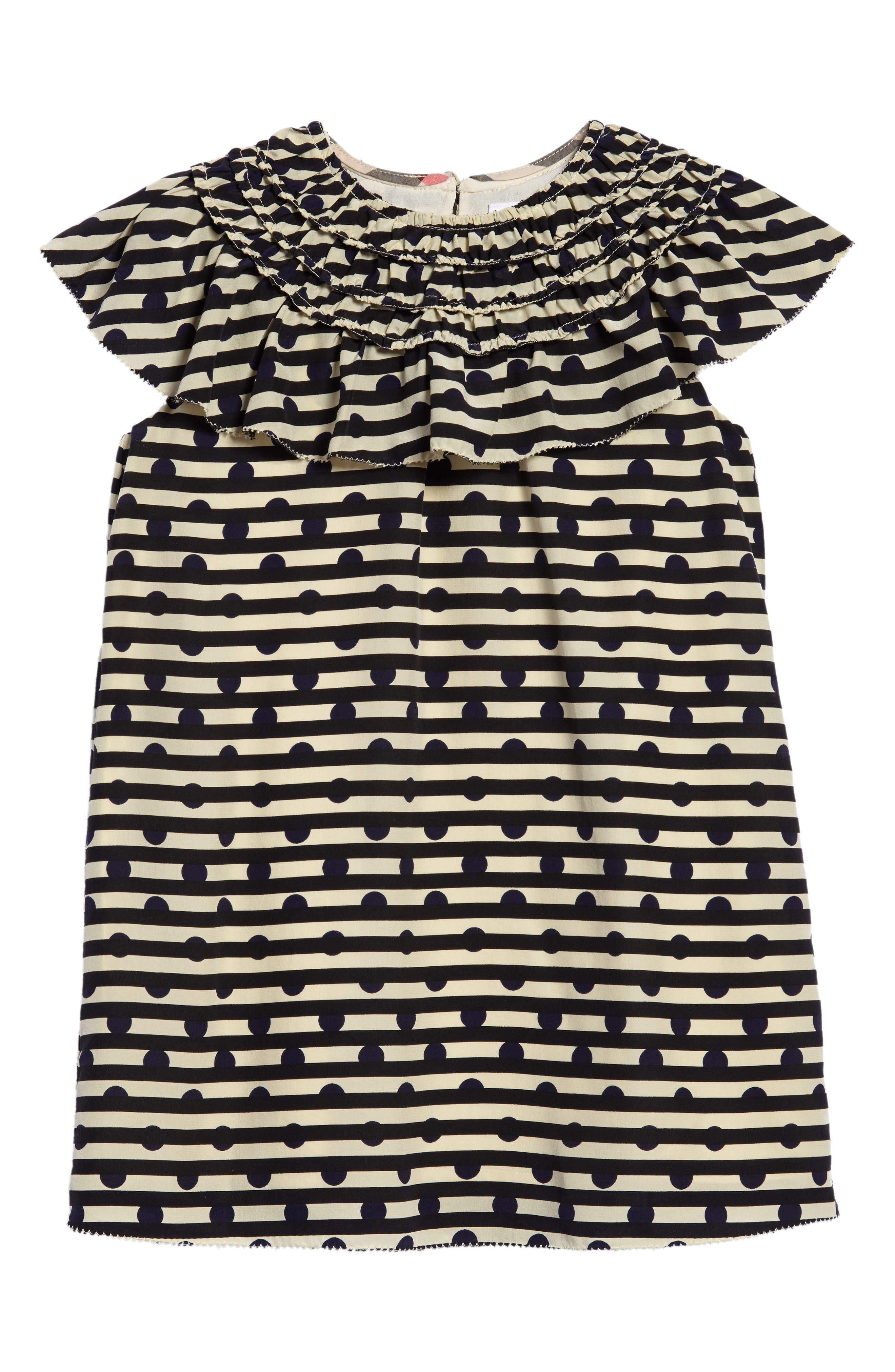 Burberry Lilla Silk Shift Dress (Little Girls & Big Girls)
