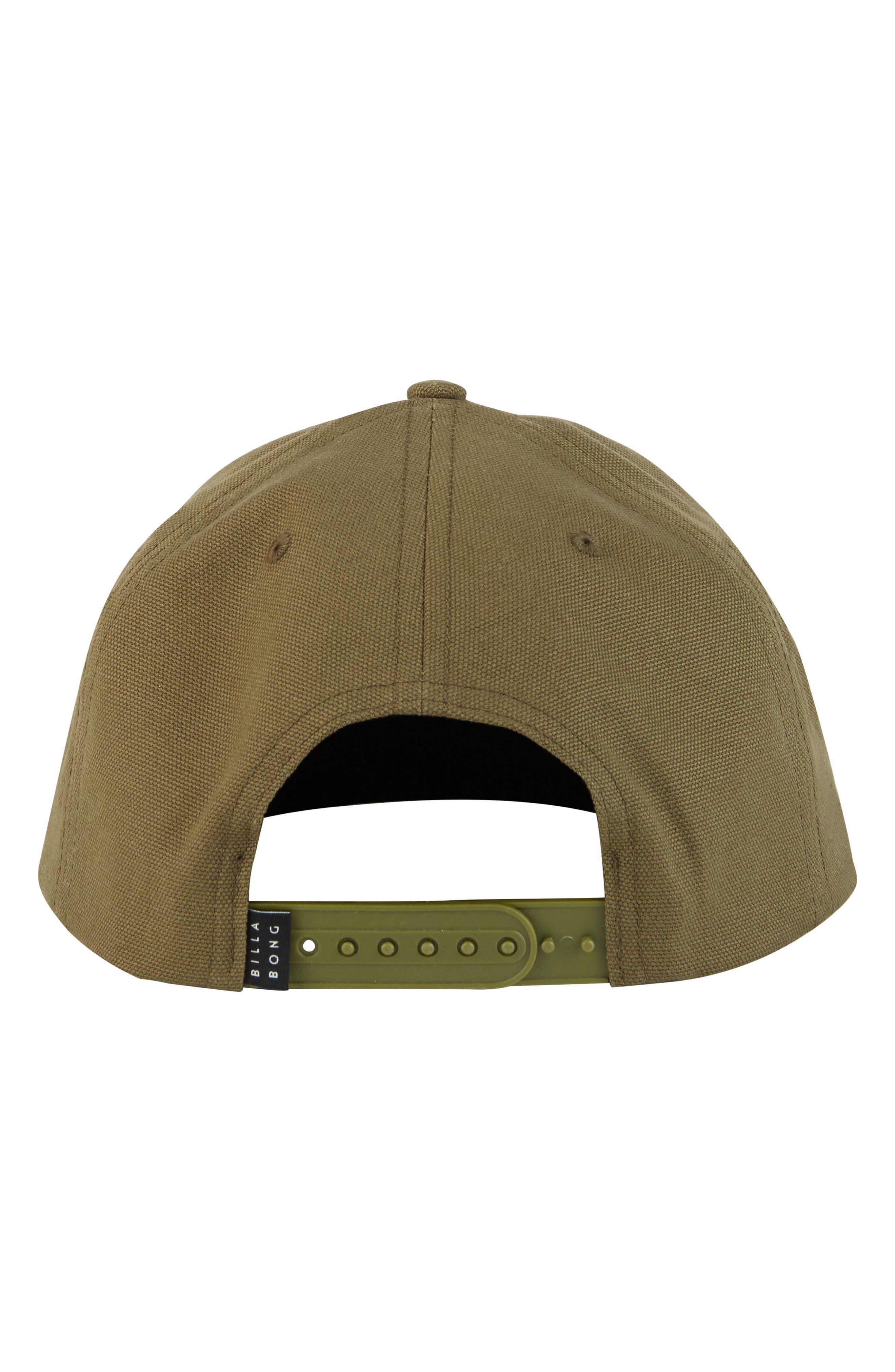Stacked Snapback Baseball Cap,                             Alternate thumbnail 2, color,                             Olive