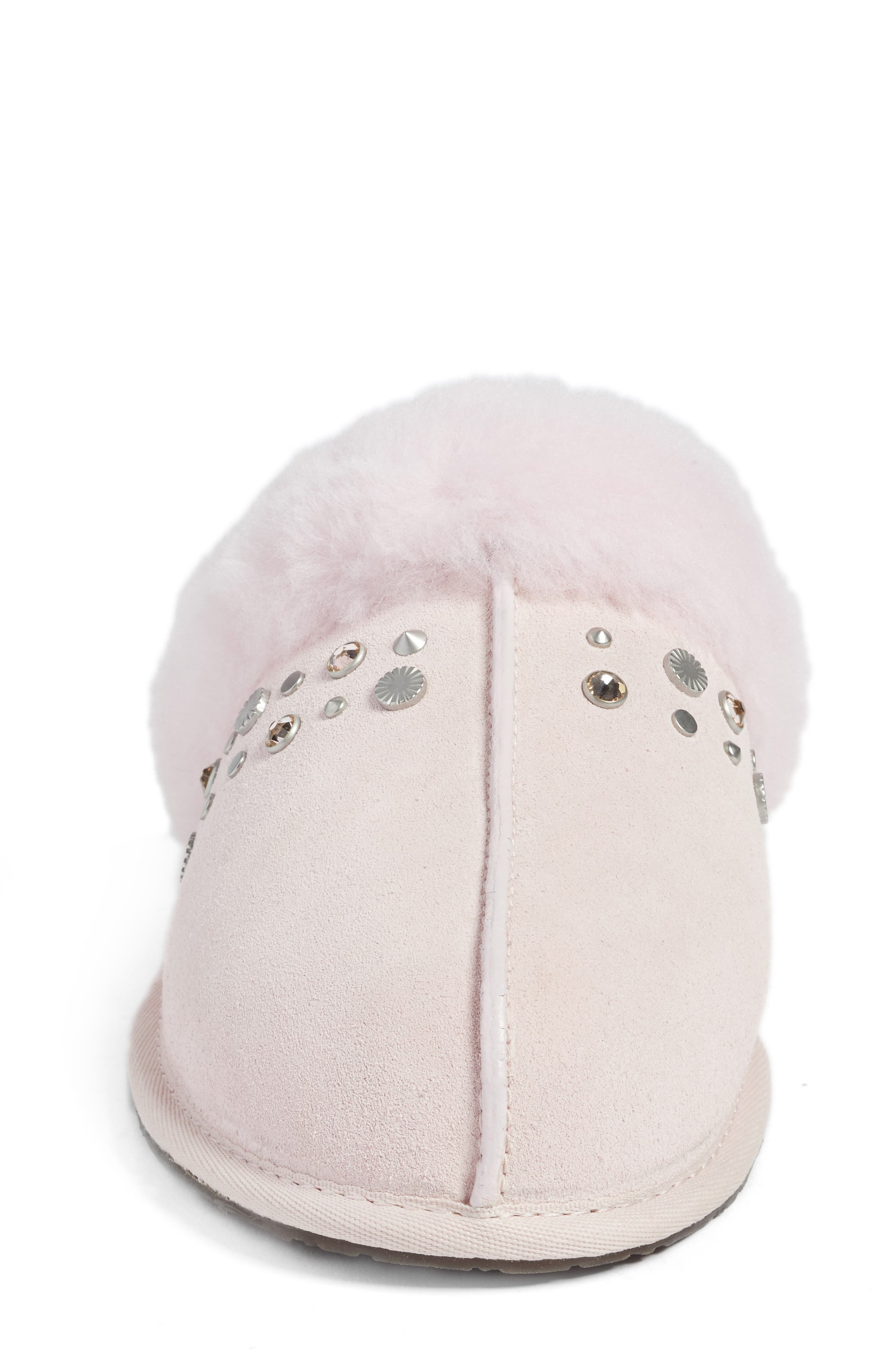 Scuffette II Studded Slipper,                             Alternate thumbnail 5, color,                             Seashell Pink