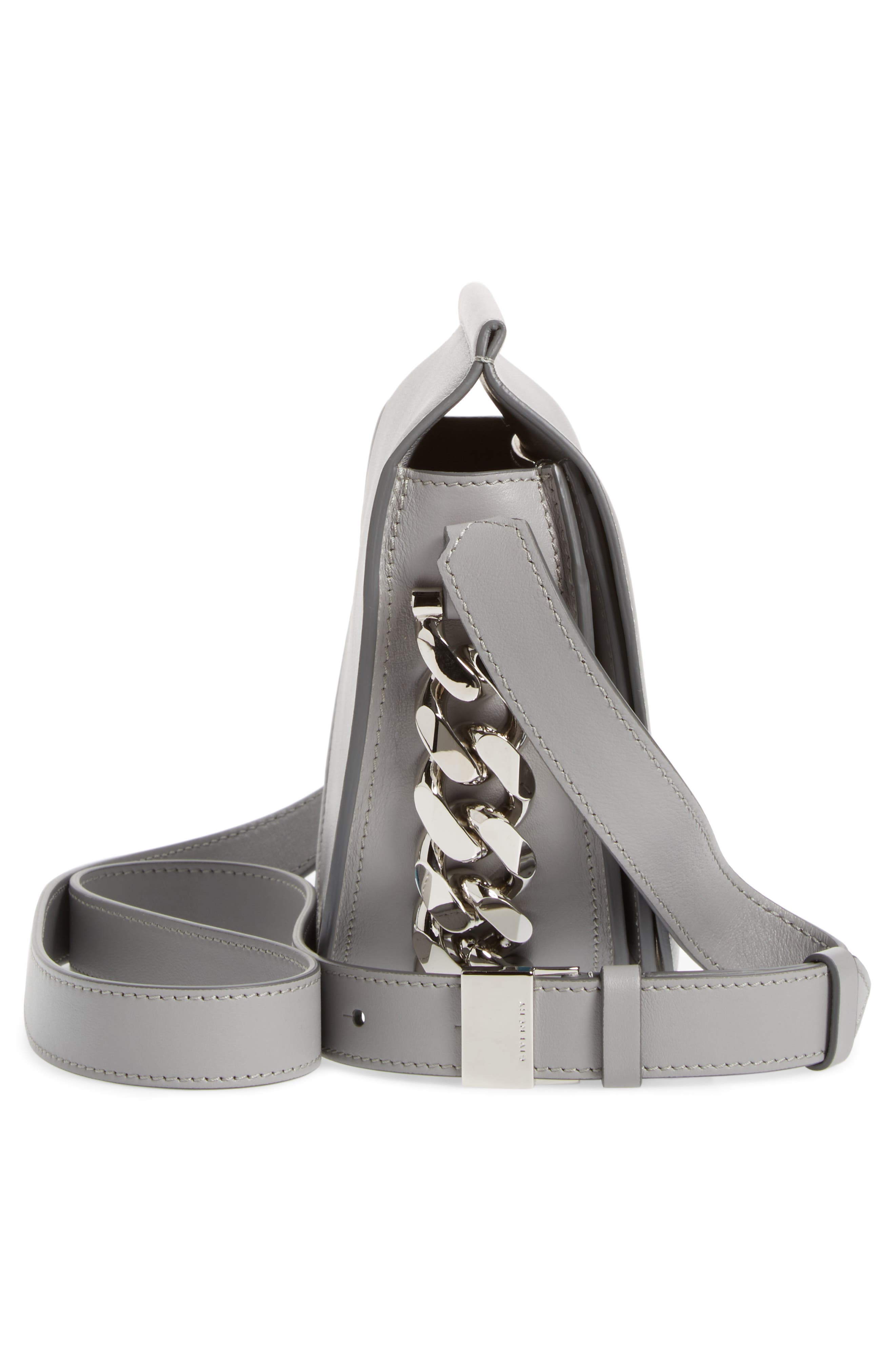 Alternate Image 5  - Givenchy Mini Infinity Calfskin Leather Saddle Bag
