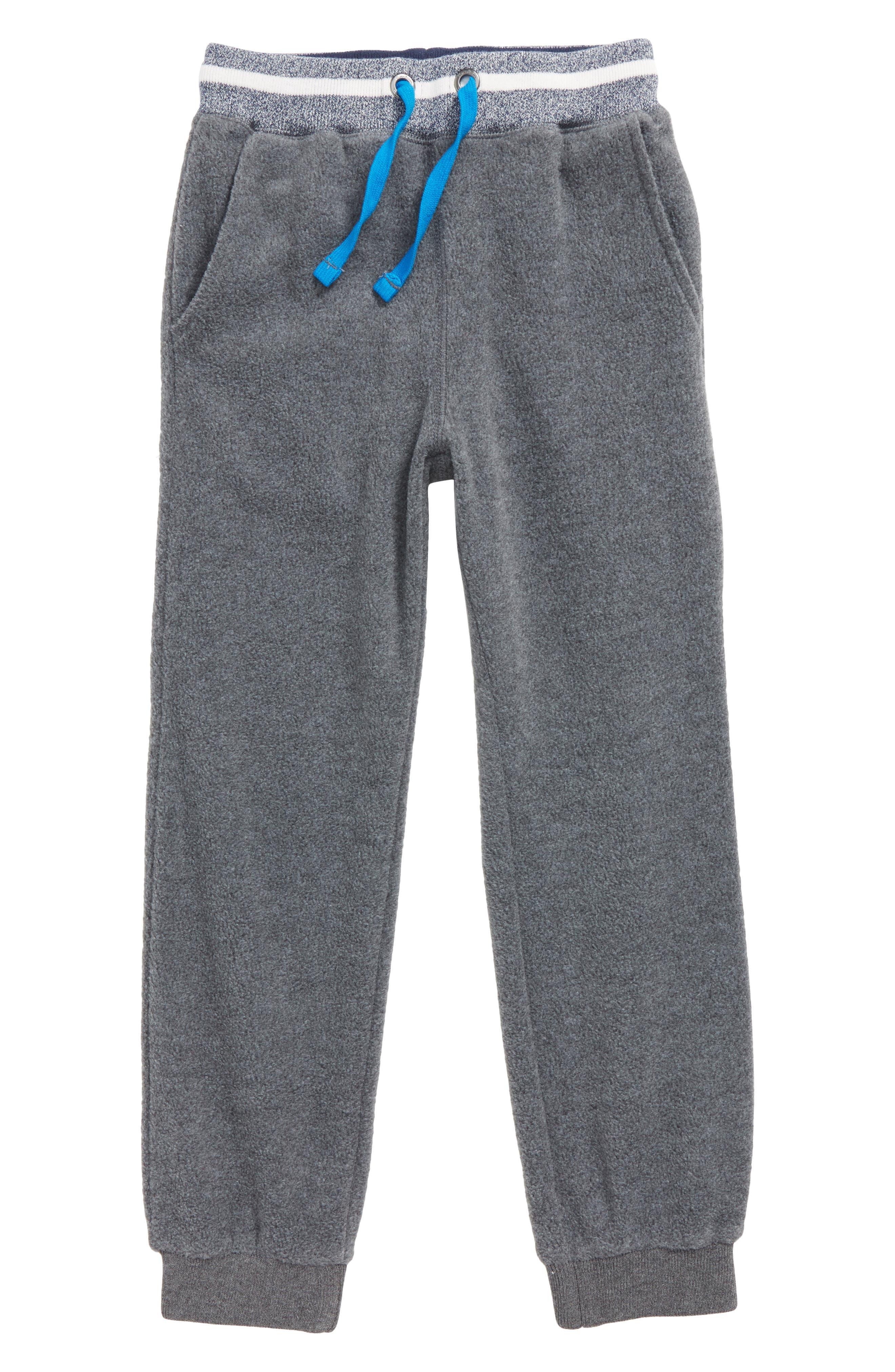 Mini Boden Microfleece Jogger Pants (Toddler Boys, Little Boys & Big Boys)