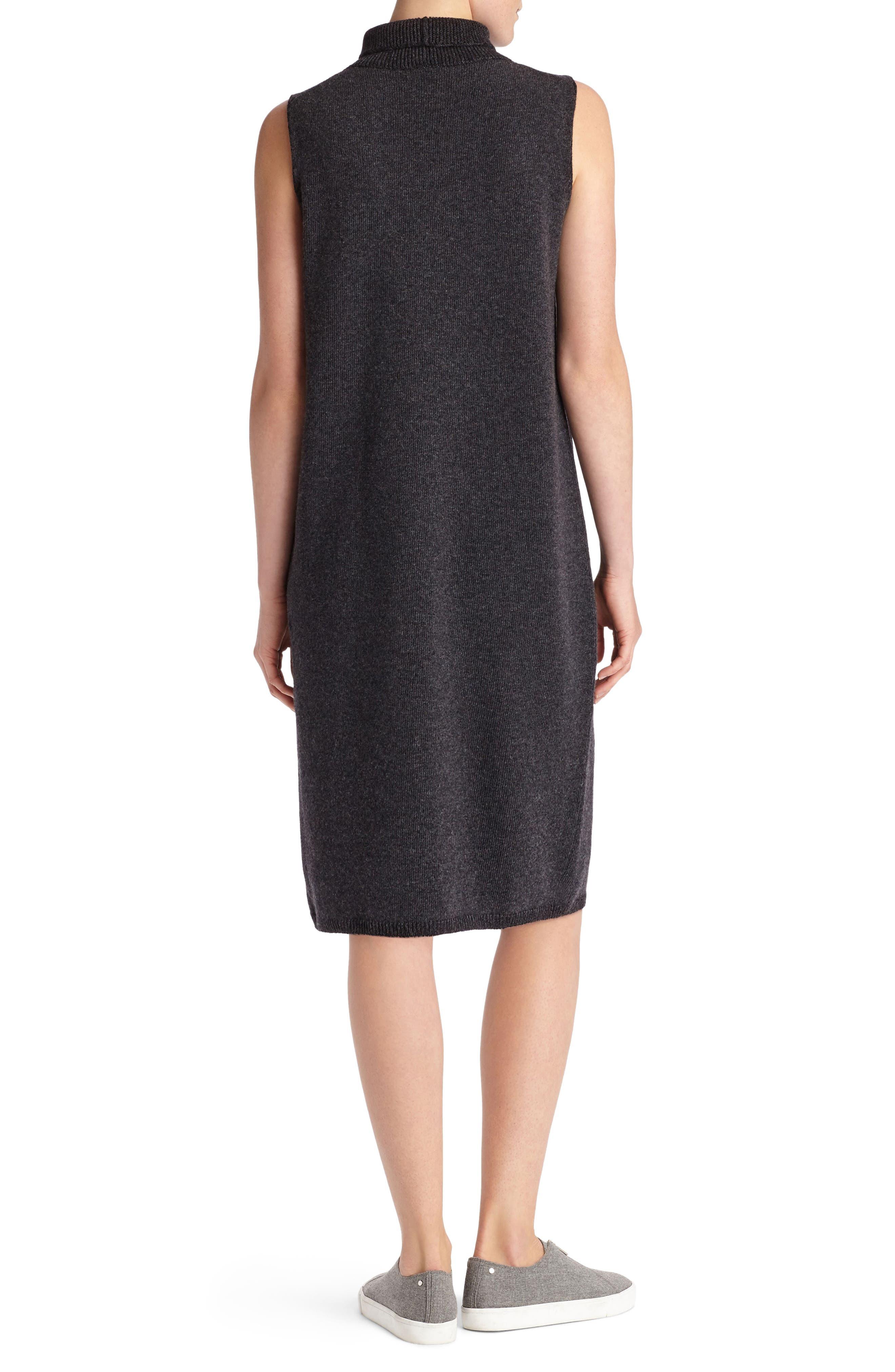 Alternate Image 3  - Lafayette 148 New York Vanise Merino Wool & Cashmere Sweater Dress