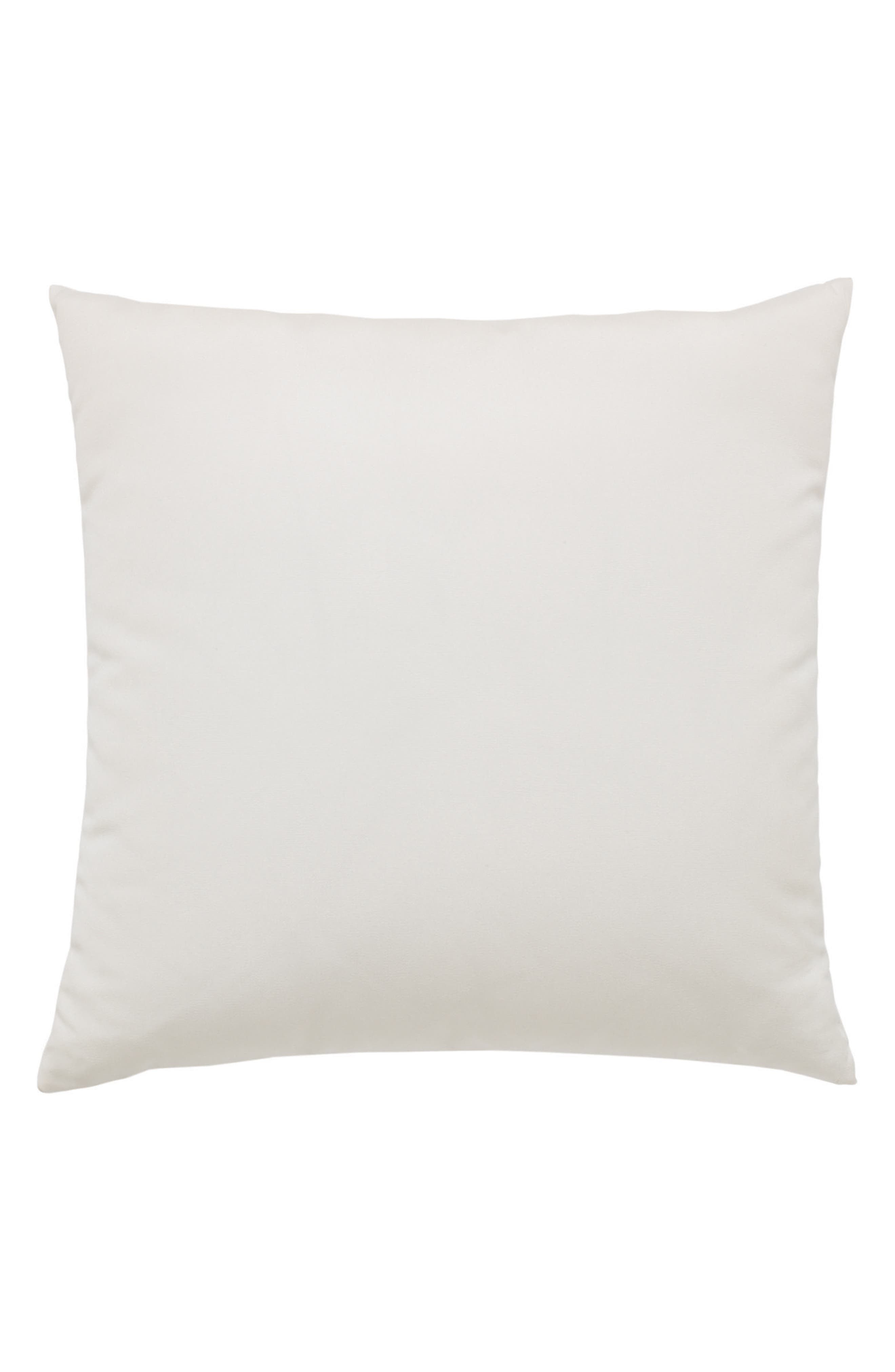 Leaf Lagoon Indoor/Outdoor Accent Pillow,                             Alternate thumbnail 2, color,                             White Blue