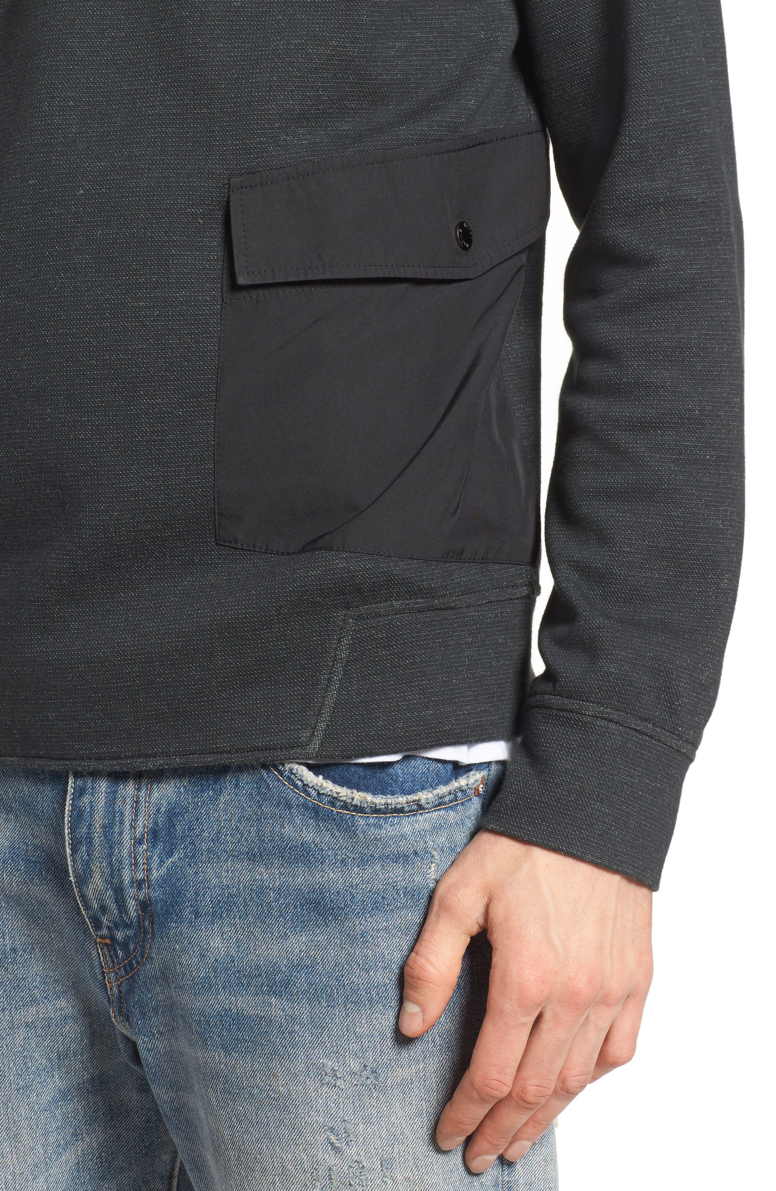 Oracle Sweatshirt,                             Alternate thumbnail 4, color,                             Green