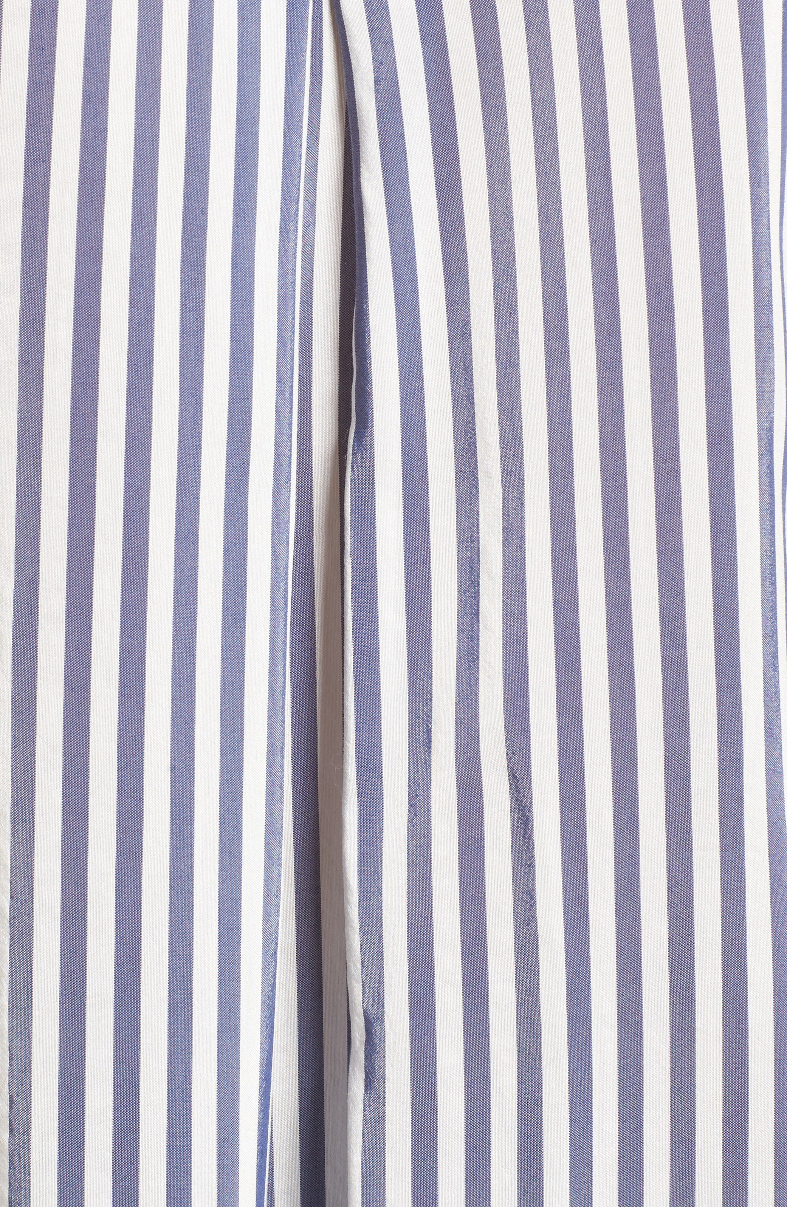 Stripe Shirt,                             Alternate thumbnail 5, color,                             Navy Evening Lucca Stripe