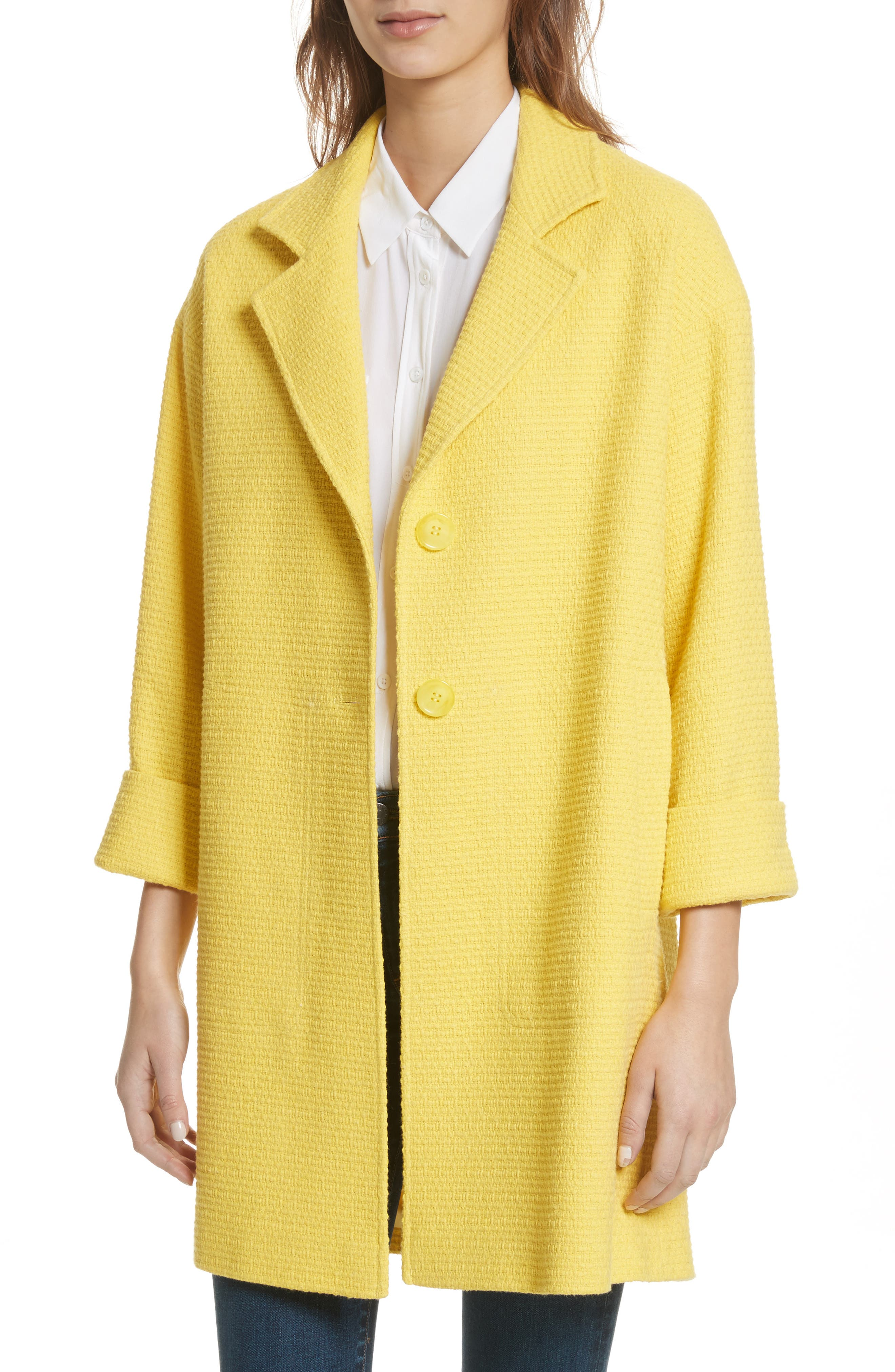 Helene Berman Rever Lapel Coat