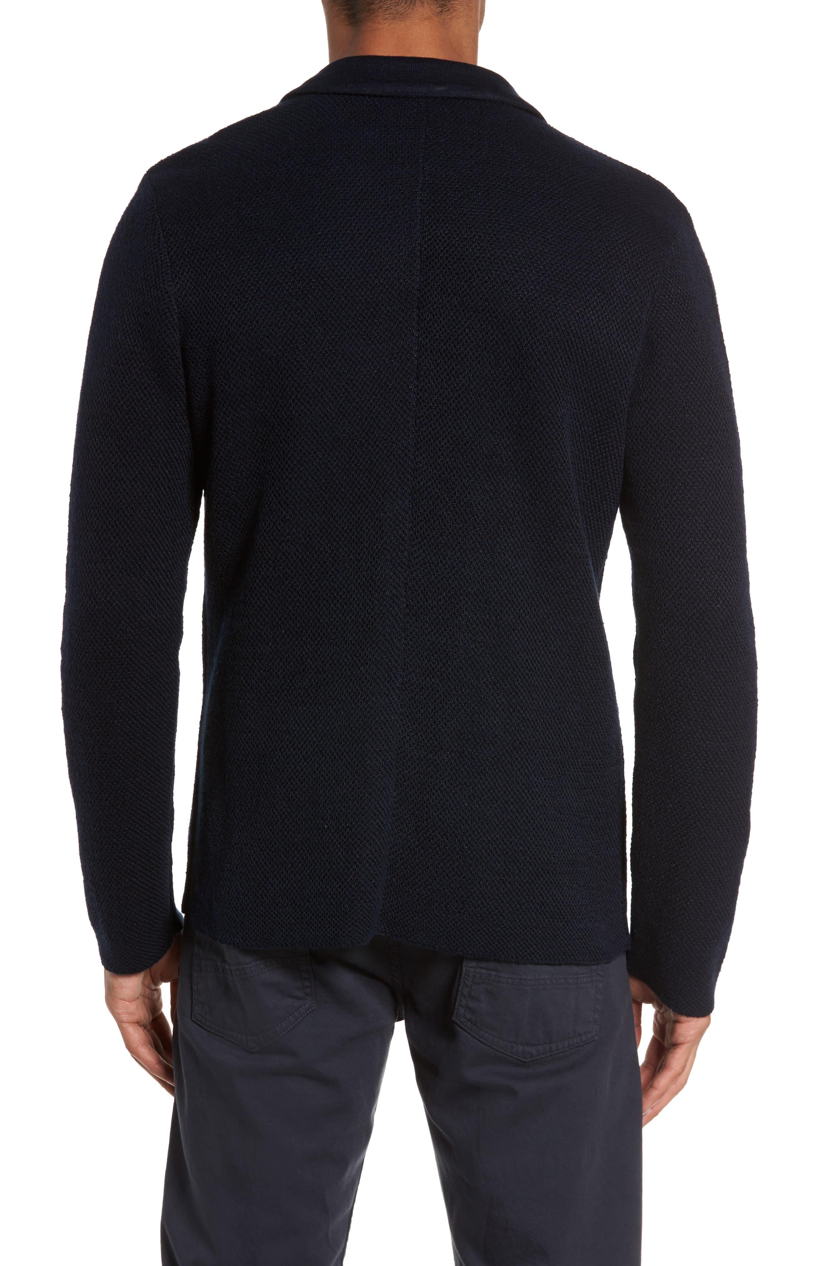 Alternate Image 2  - Eleventy Linen & Cotton Cardigan