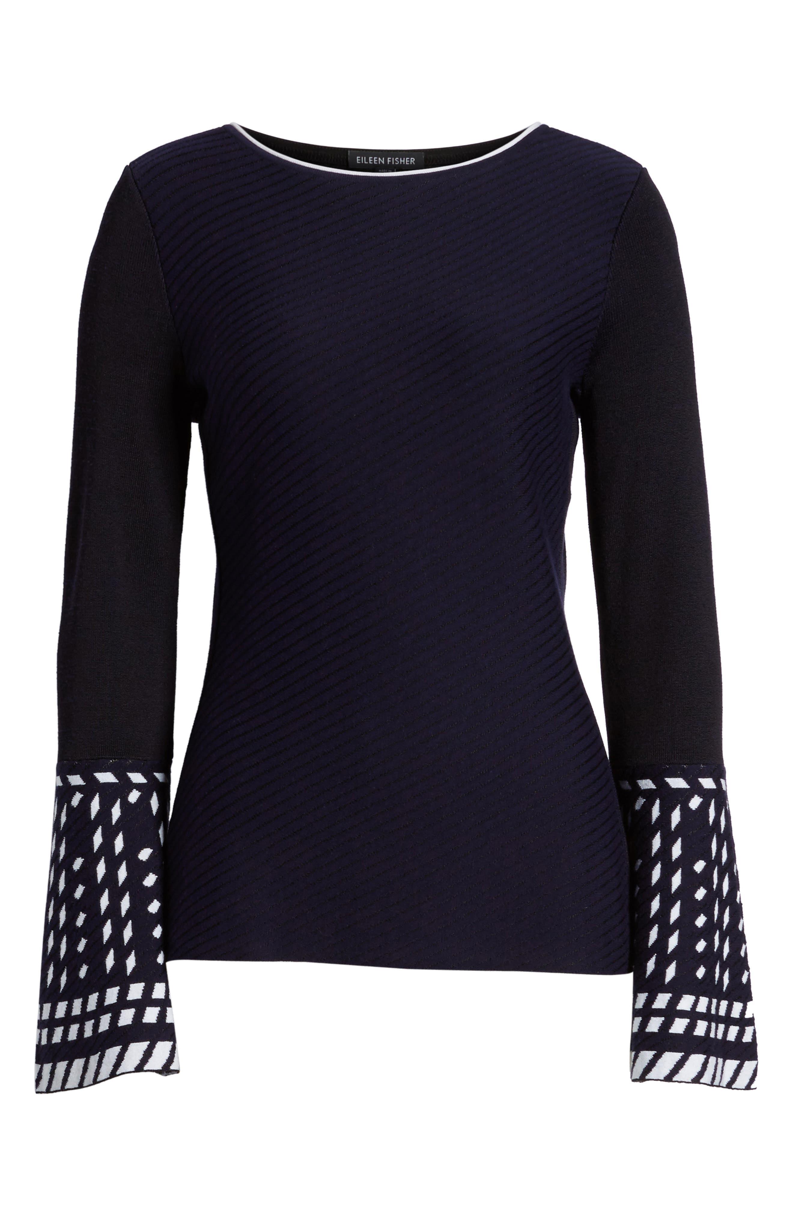 Alternate Image 6  - NIC+ZOE Falling Star Sweater (Regular & Petite)