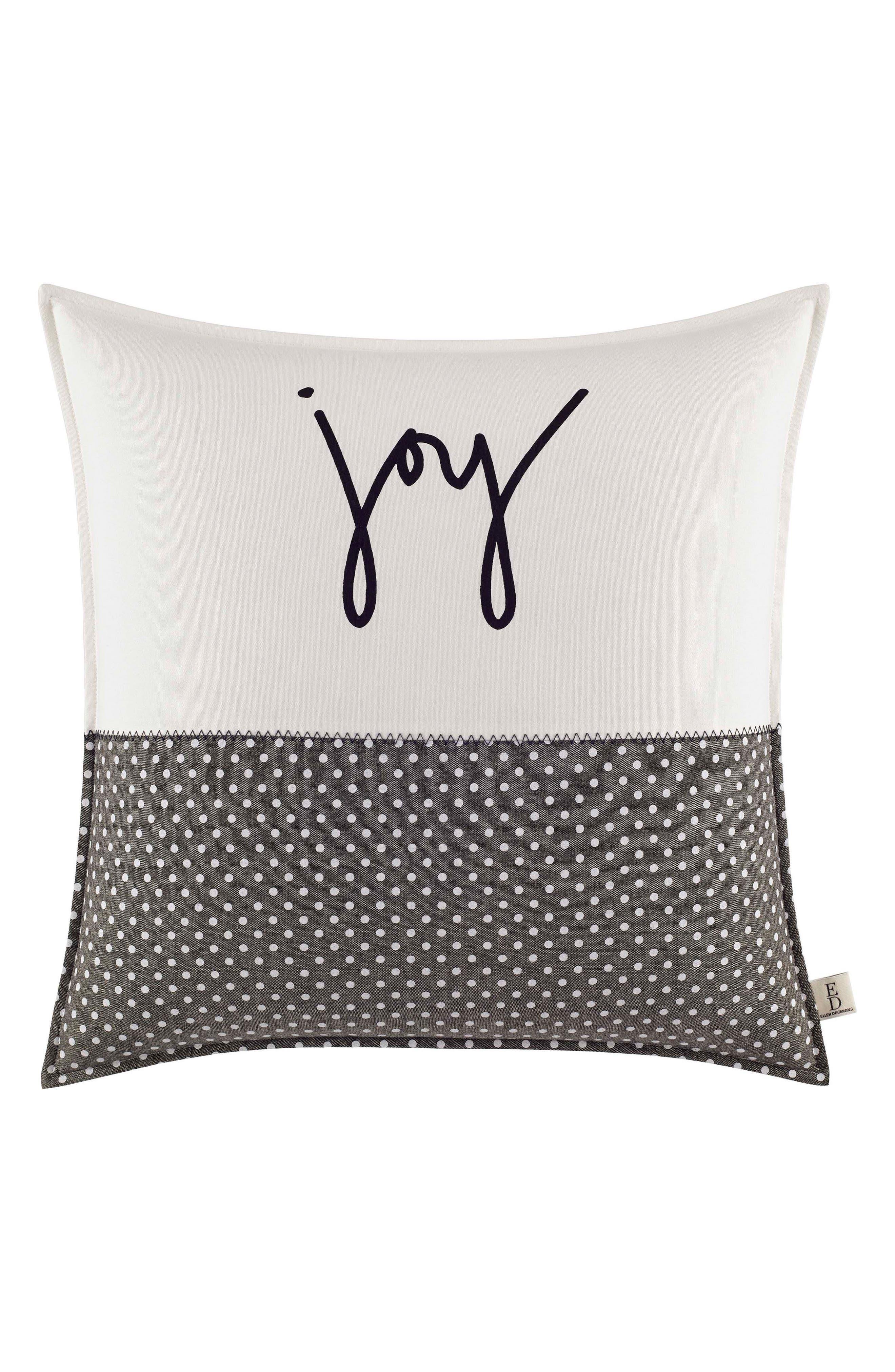 Joy Pillow,                             Main thumbnail 1, color,                             Natural