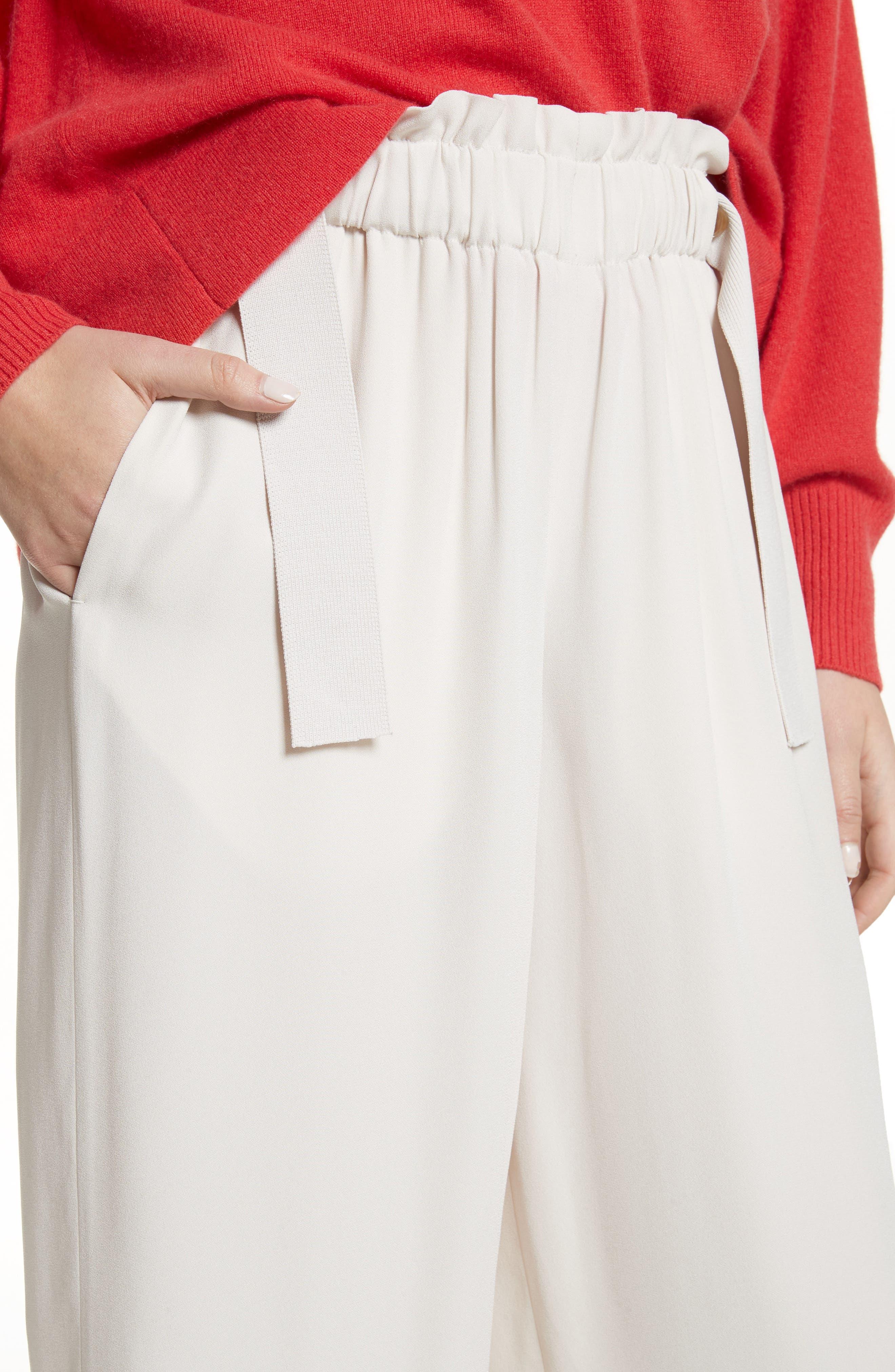 Cinched Waist Culottes,                             Alternate thumbnail 6, color,                             Sandstone