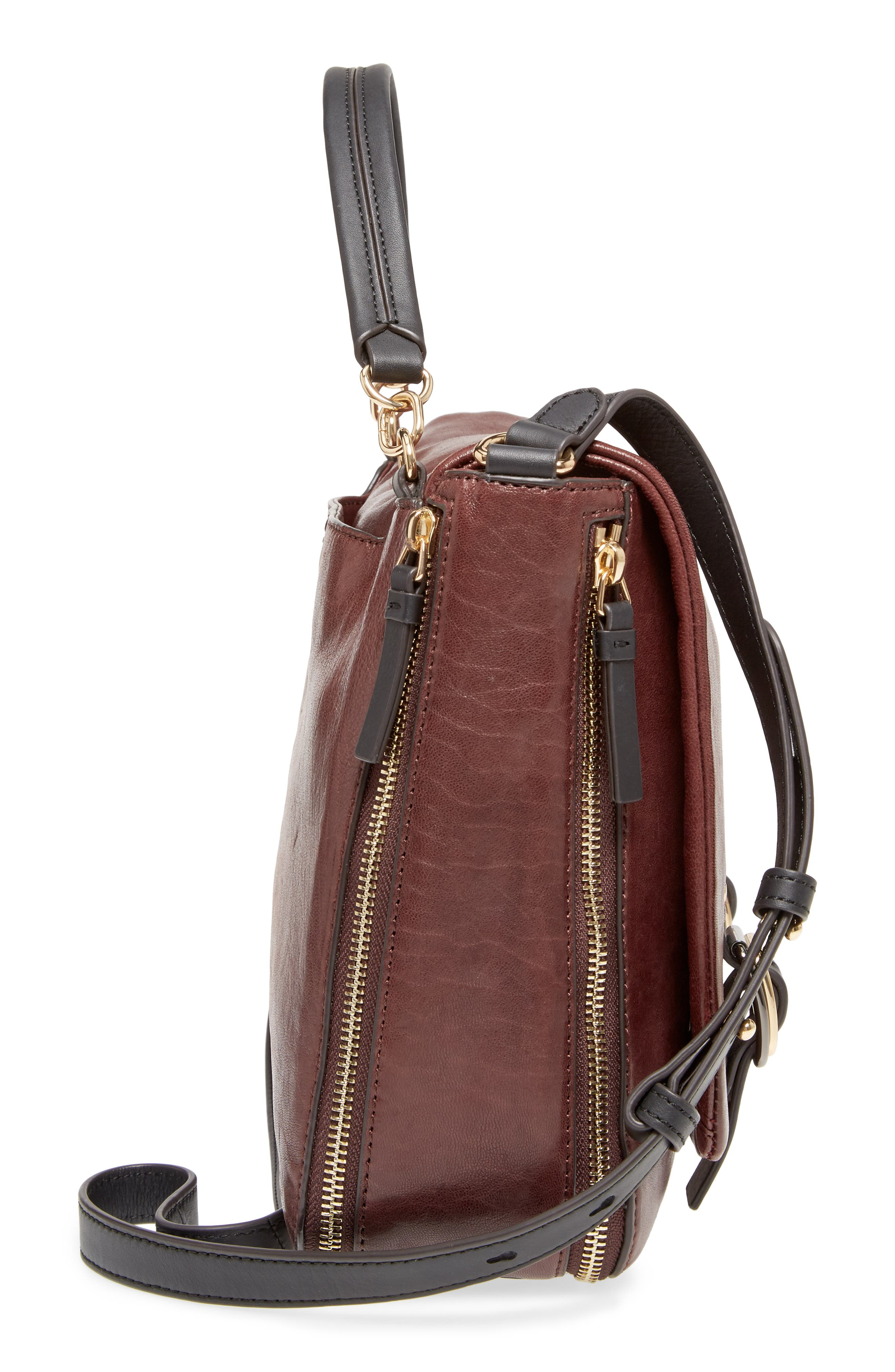 Alternate Image 4  - Vince Camuto Delos Leather Messenger Bag (Nordstrom Exclusive)