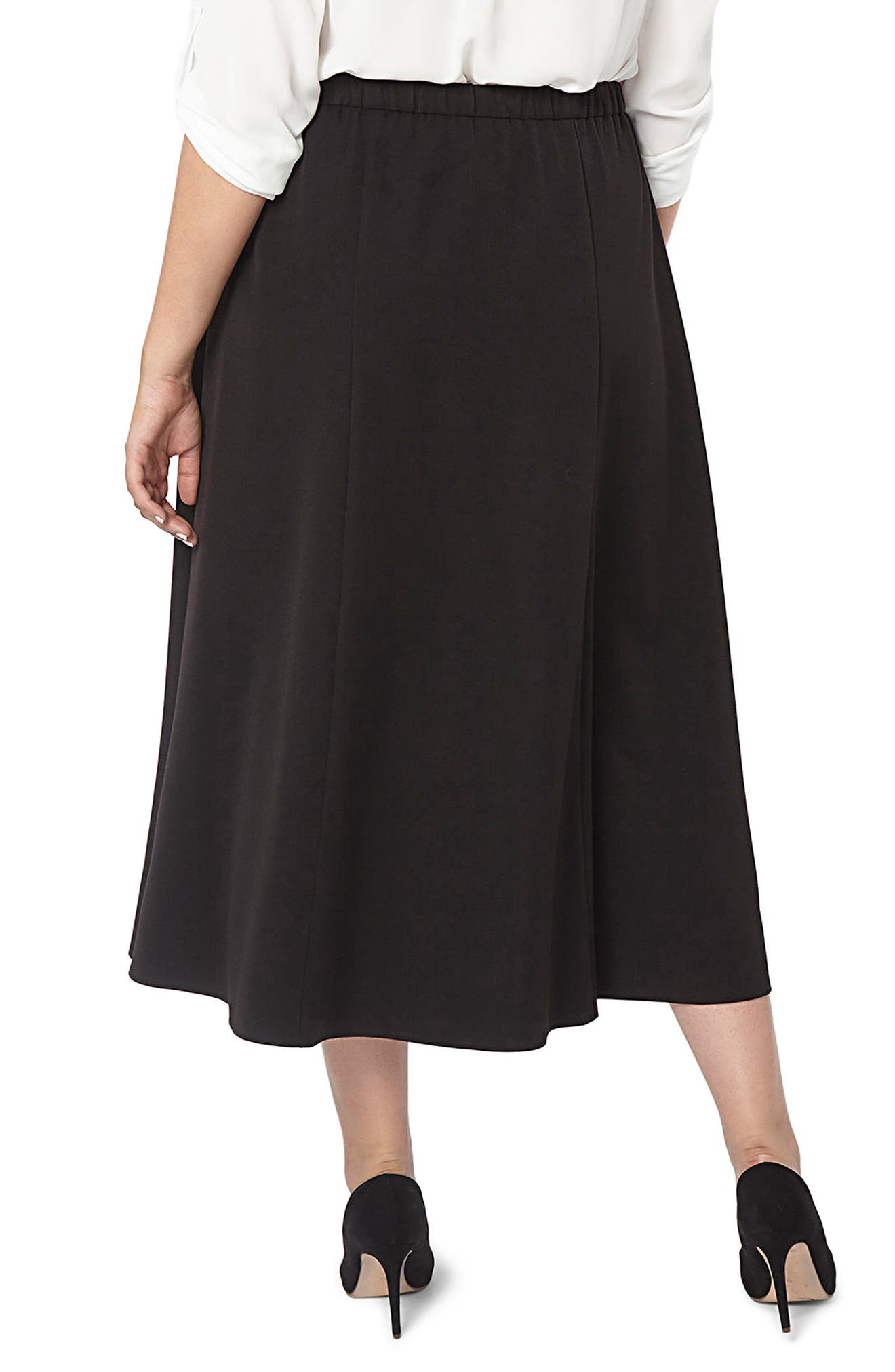 Picasso 36 Skirt,                             Alternate thumbnail 3, color,                             Black