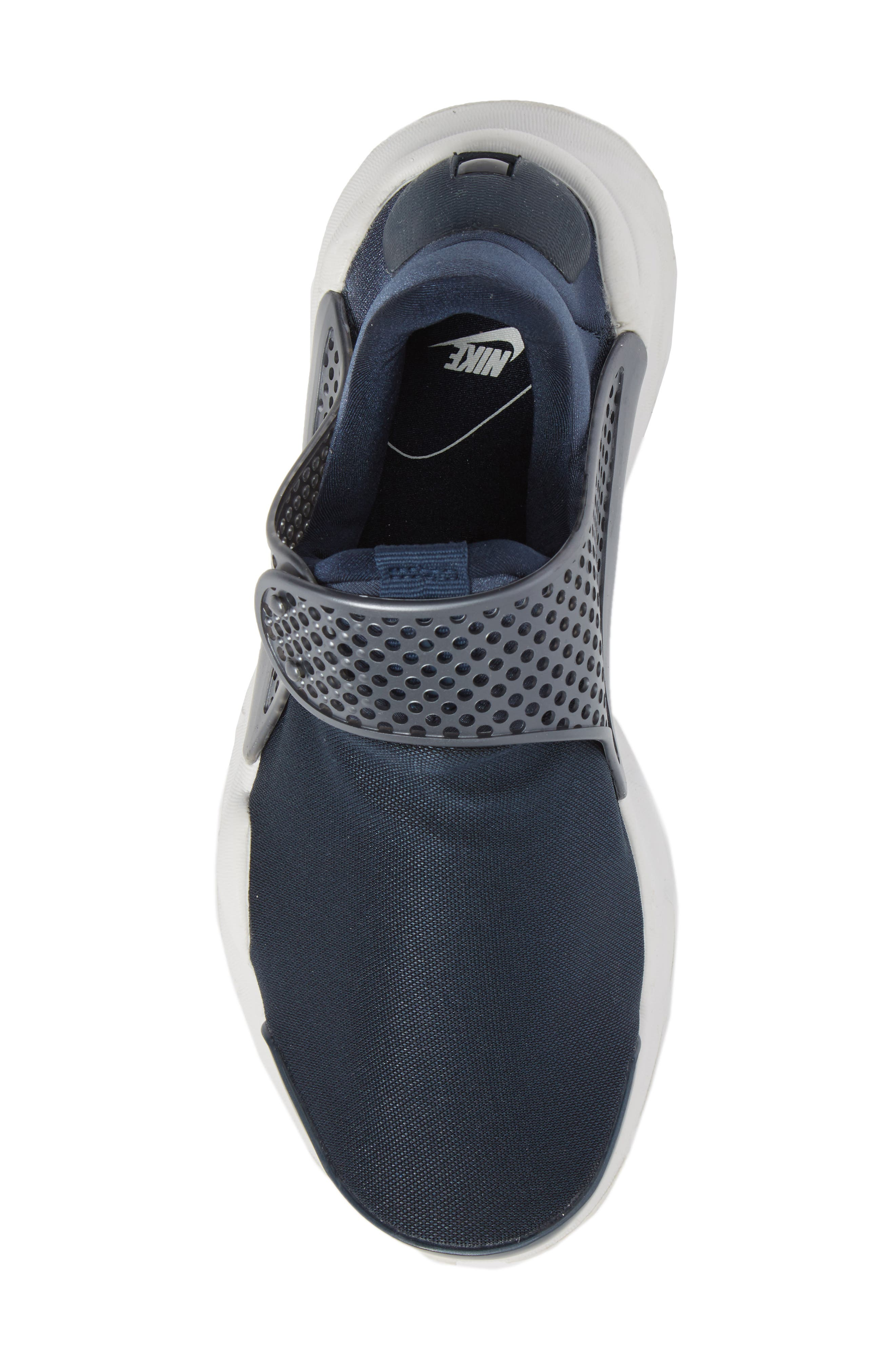 Sock Dart Sneaker,                             Alternate thumbnail 5, color,                             Metallic/ Armory Navy