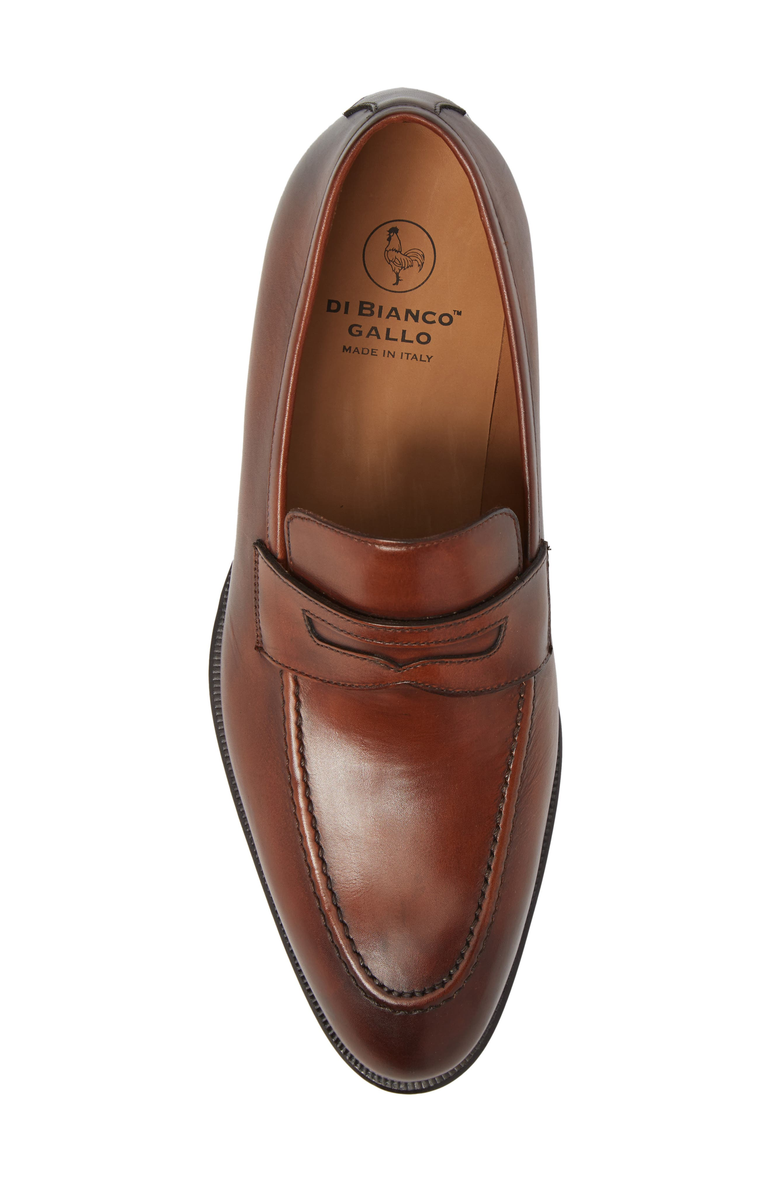 Penny Loafer,                             Alternate thumbnail 5, color,                             Marble Brown