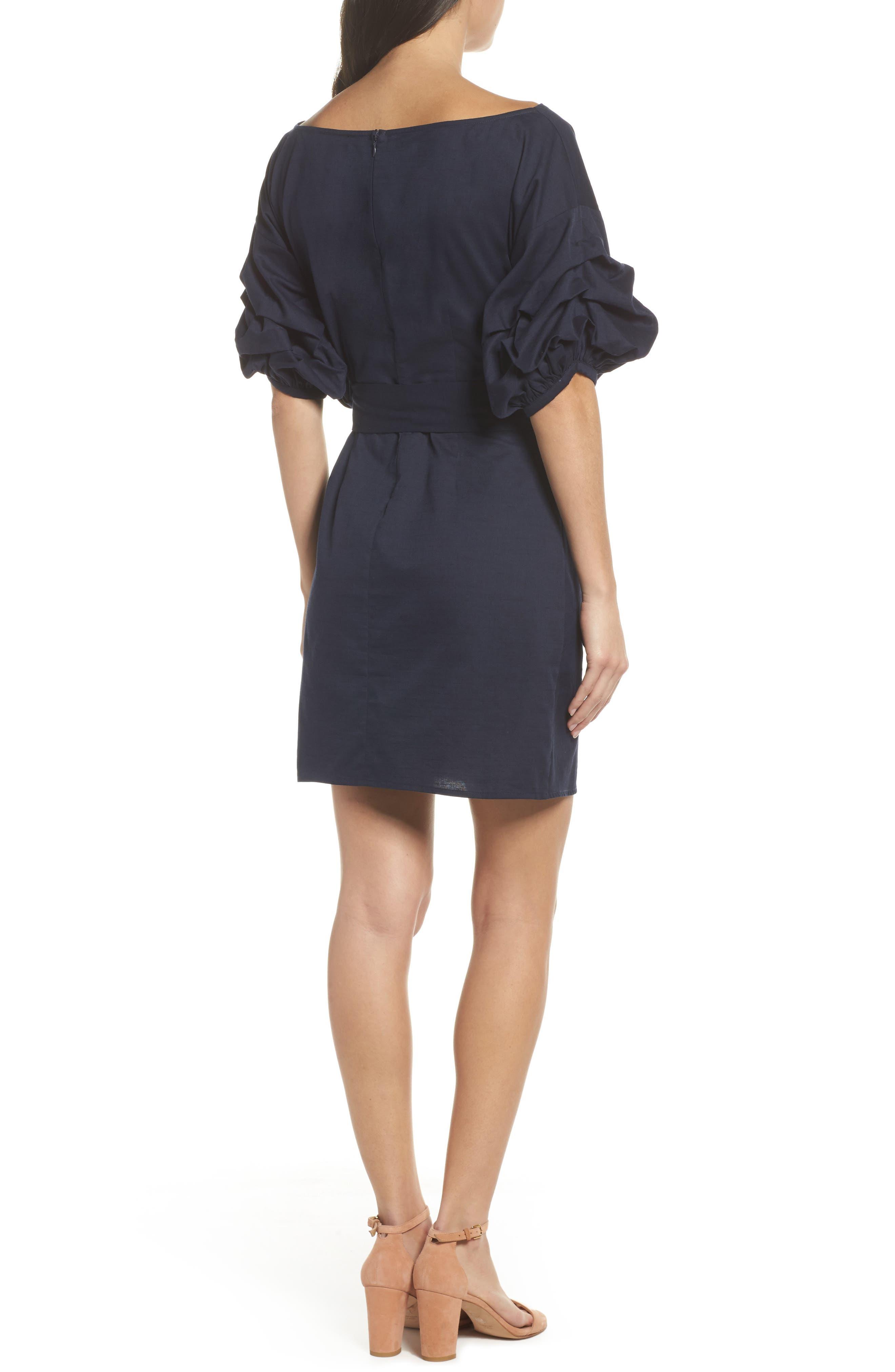 Alternate Image 4  - Chelsea28 Billow Sleeve Dress
