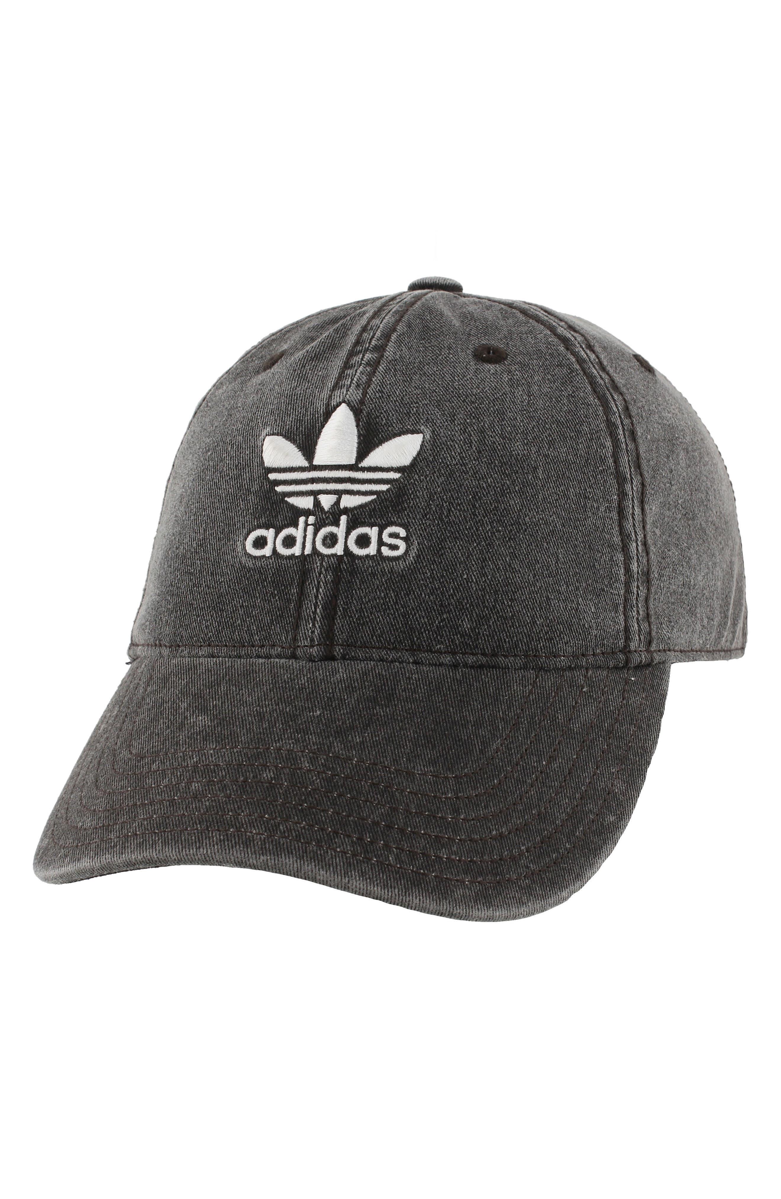 Originals Relaxed Strap-Back Cap,                         Main,                         color, Black