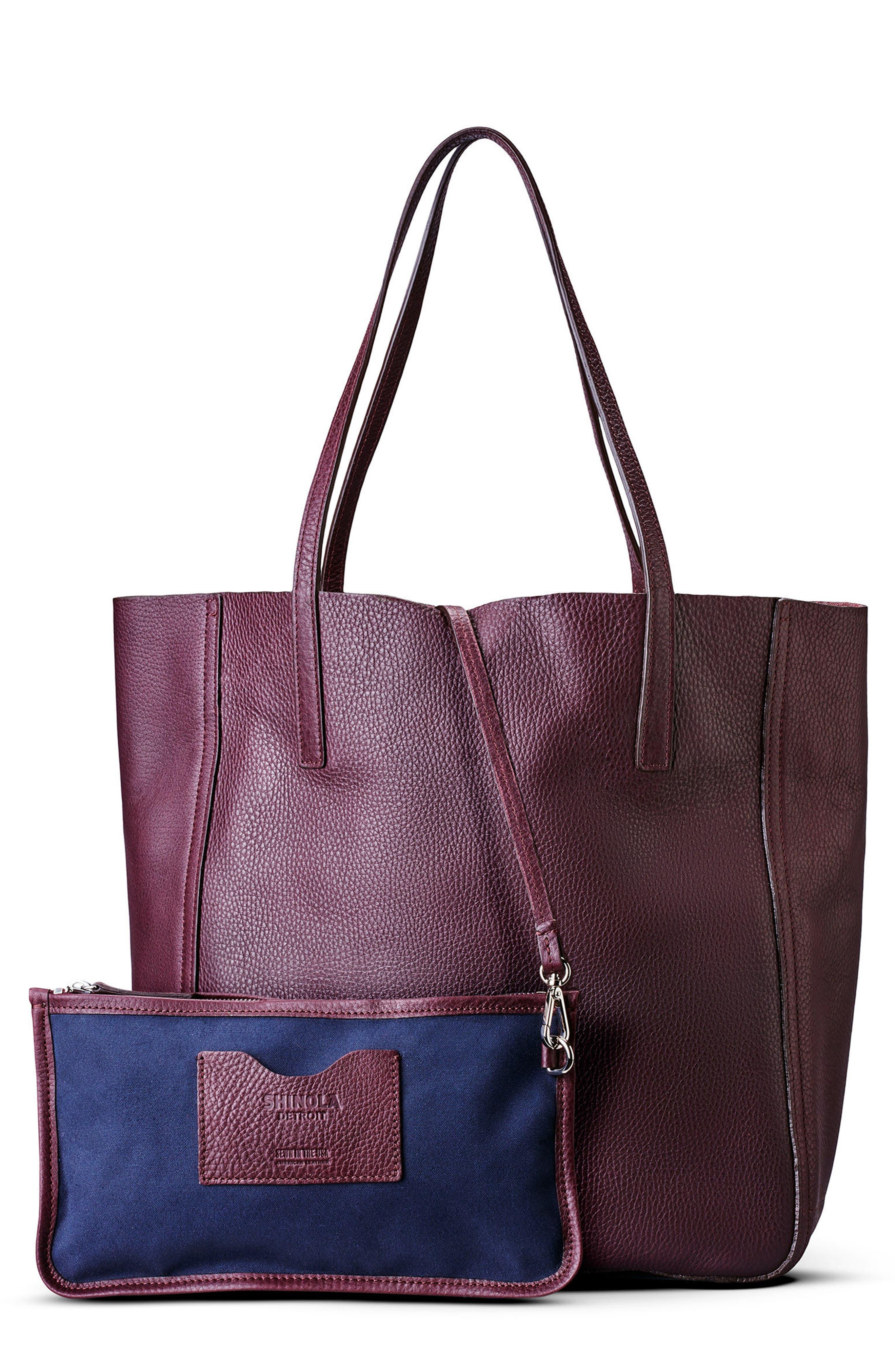 Main Image - Shinola Medium Leather Shopper (Nordstrom Exclusive)