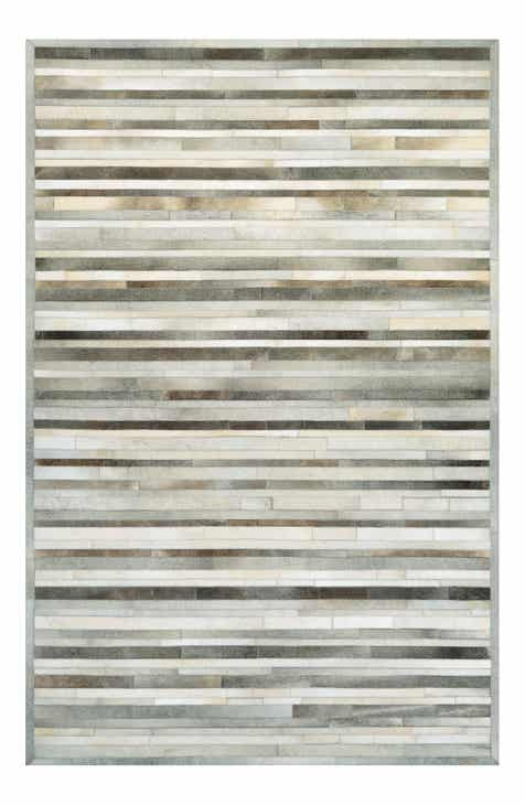 Couristan Chalet Collection Genuine Calf Hair Plank Rug