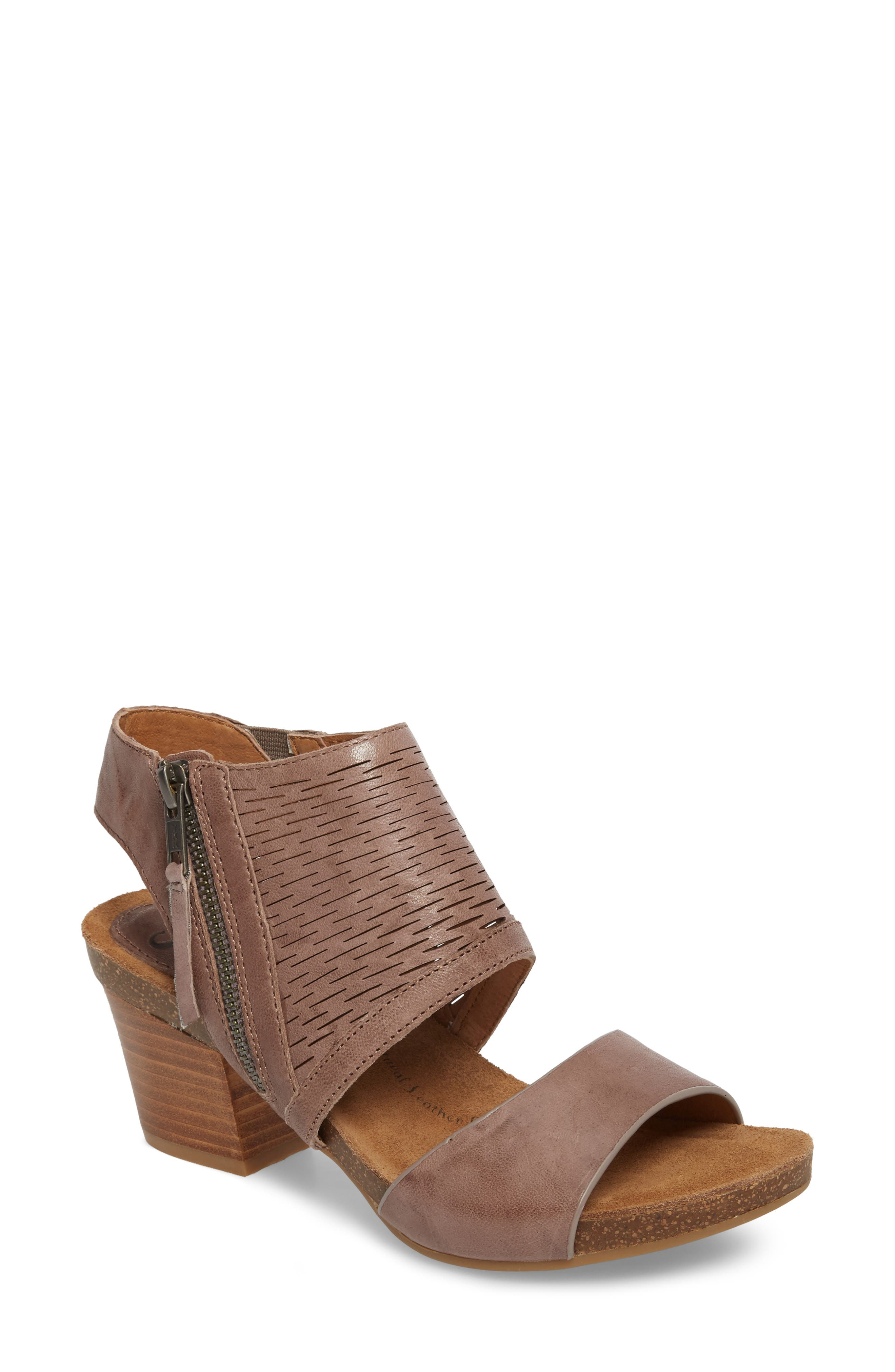 Alternate Image 1 Selected - Söfft Milan Block Heel Sandal (Women)