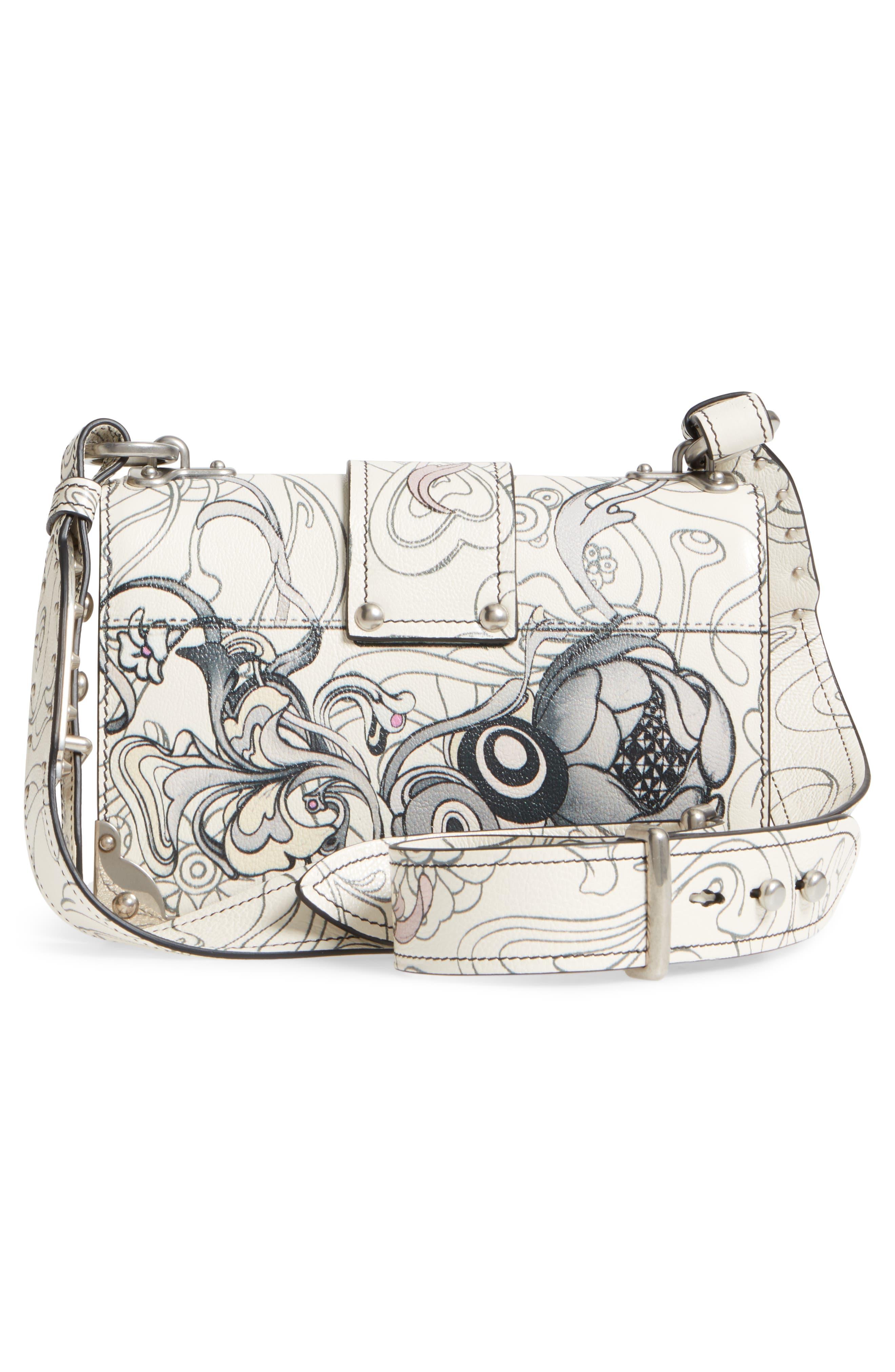Alternate Image 3  - Prada Cahier Calfskin Shoulder Bag