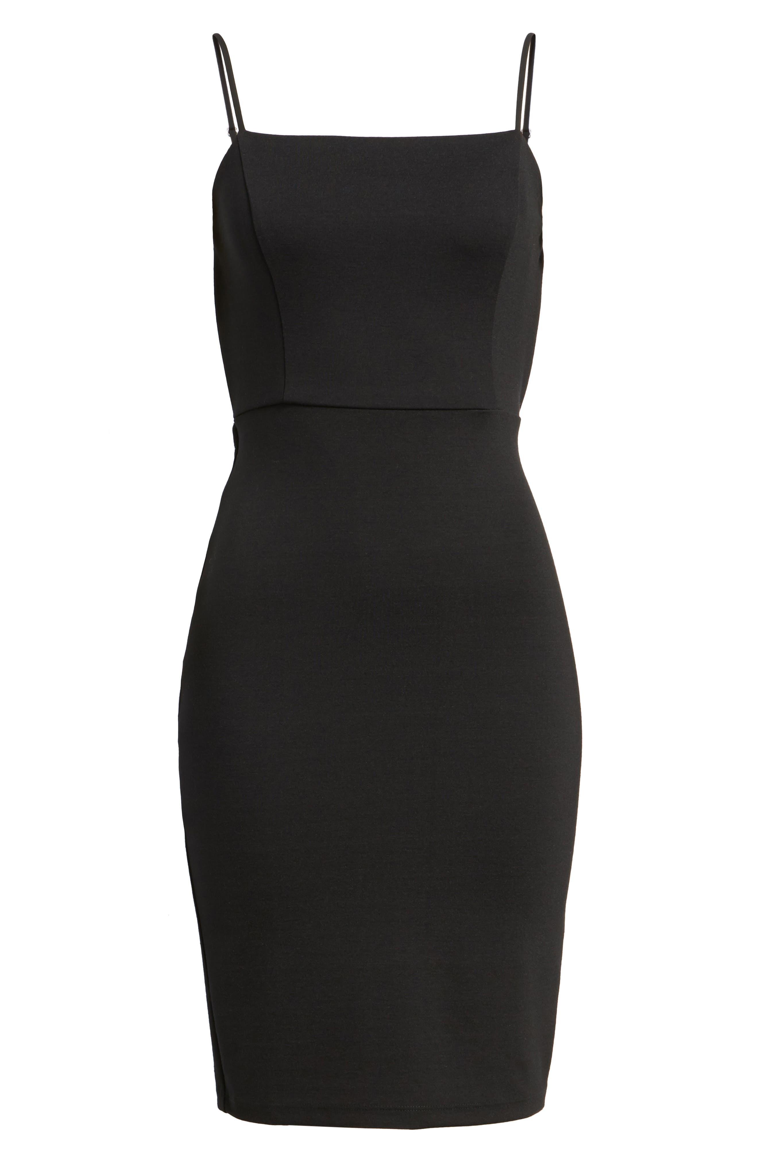 Alternate Image 7  - Soprano Open Back Body-Con Dress