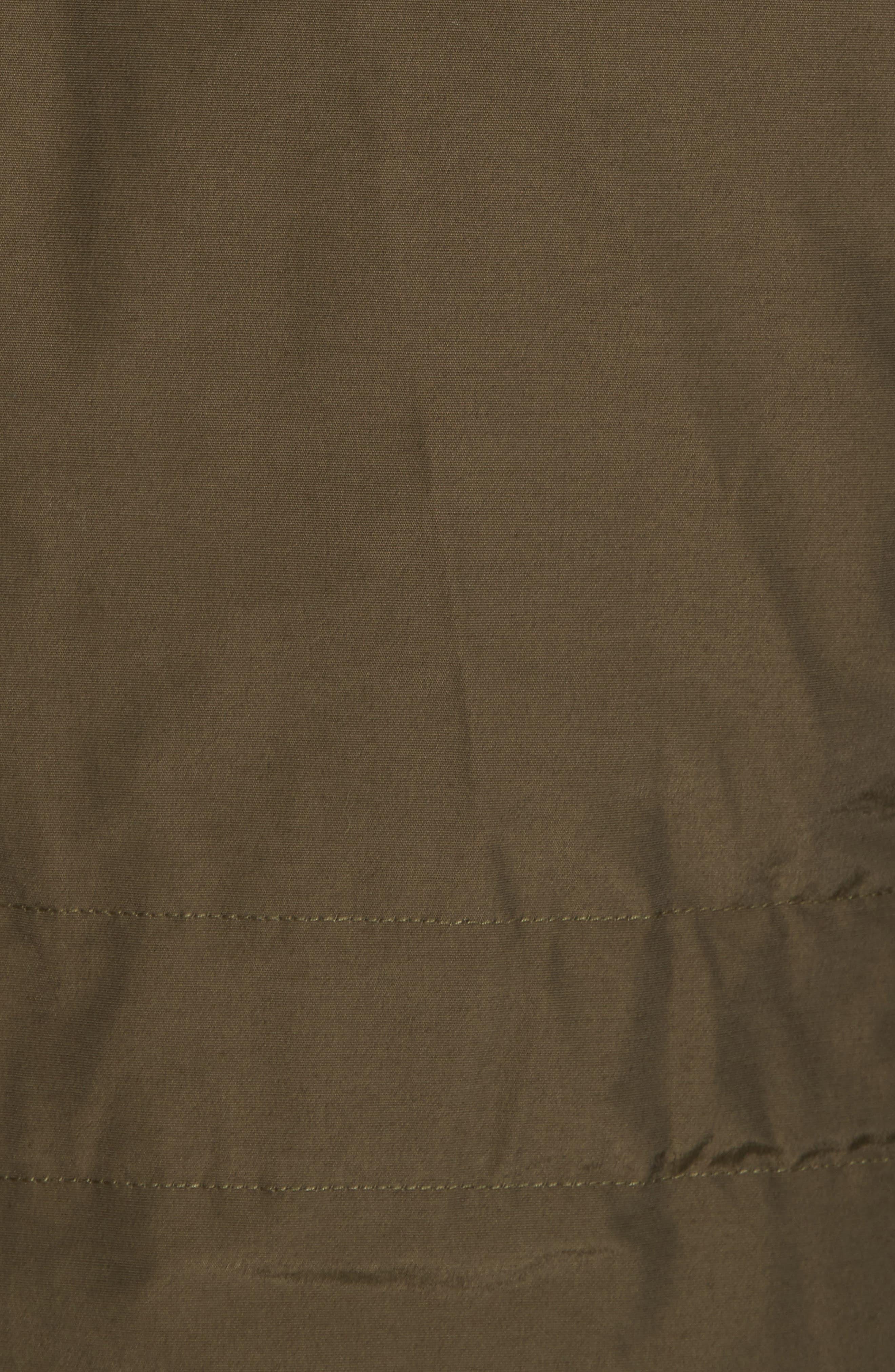 John Rich & Bros. Polar Down Parka with Genuine Coyote Fur Trim,                             Alternate thumbnail 6, color,                             Dark Green