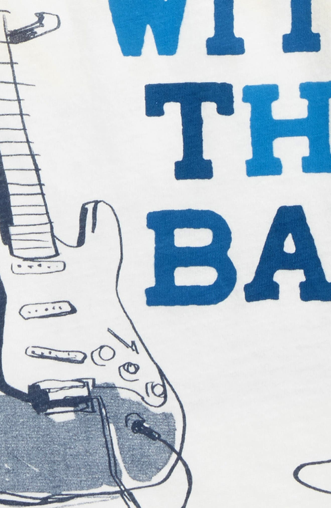 I'm with the Band Graphic T-Shirt,                             Alternate thumbnail 3, color,                             Ivory