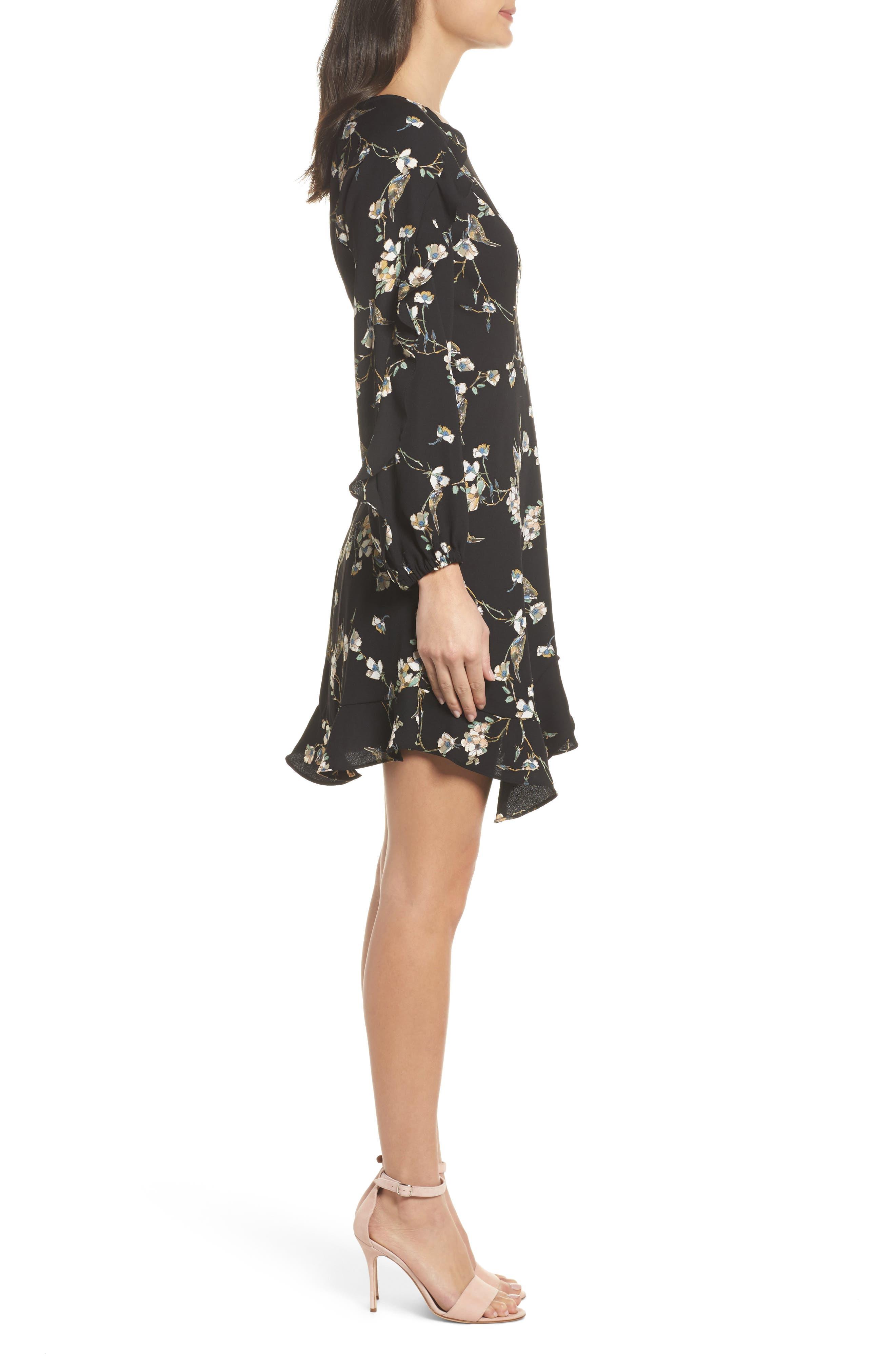 Alternate Image 3  - 19 Cooper Ruffle Hem Dress