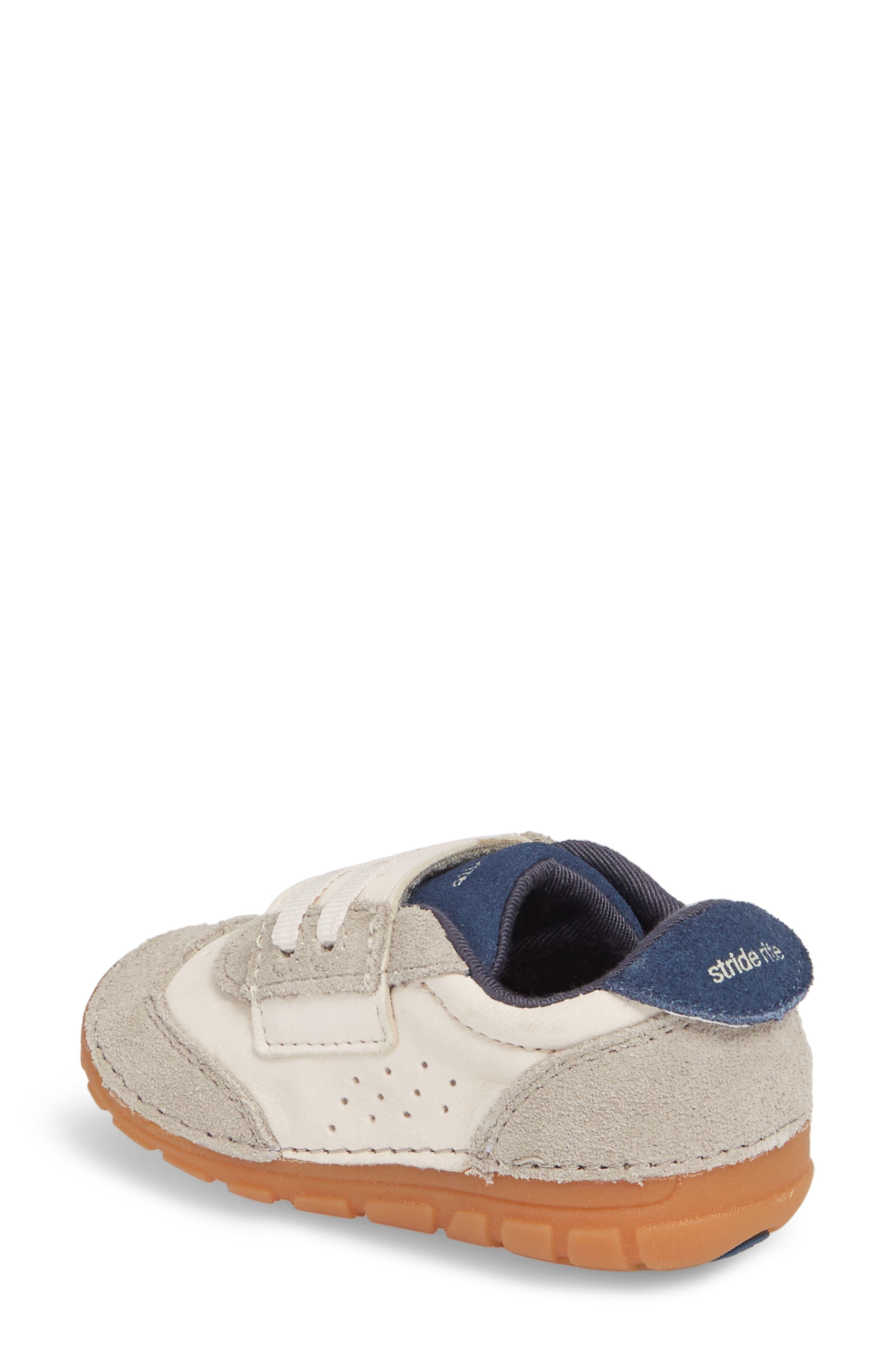 Soft Motion SRT Wyatt Sneaker,                             Alternate thumbnail 2, color,                             Stone Leather