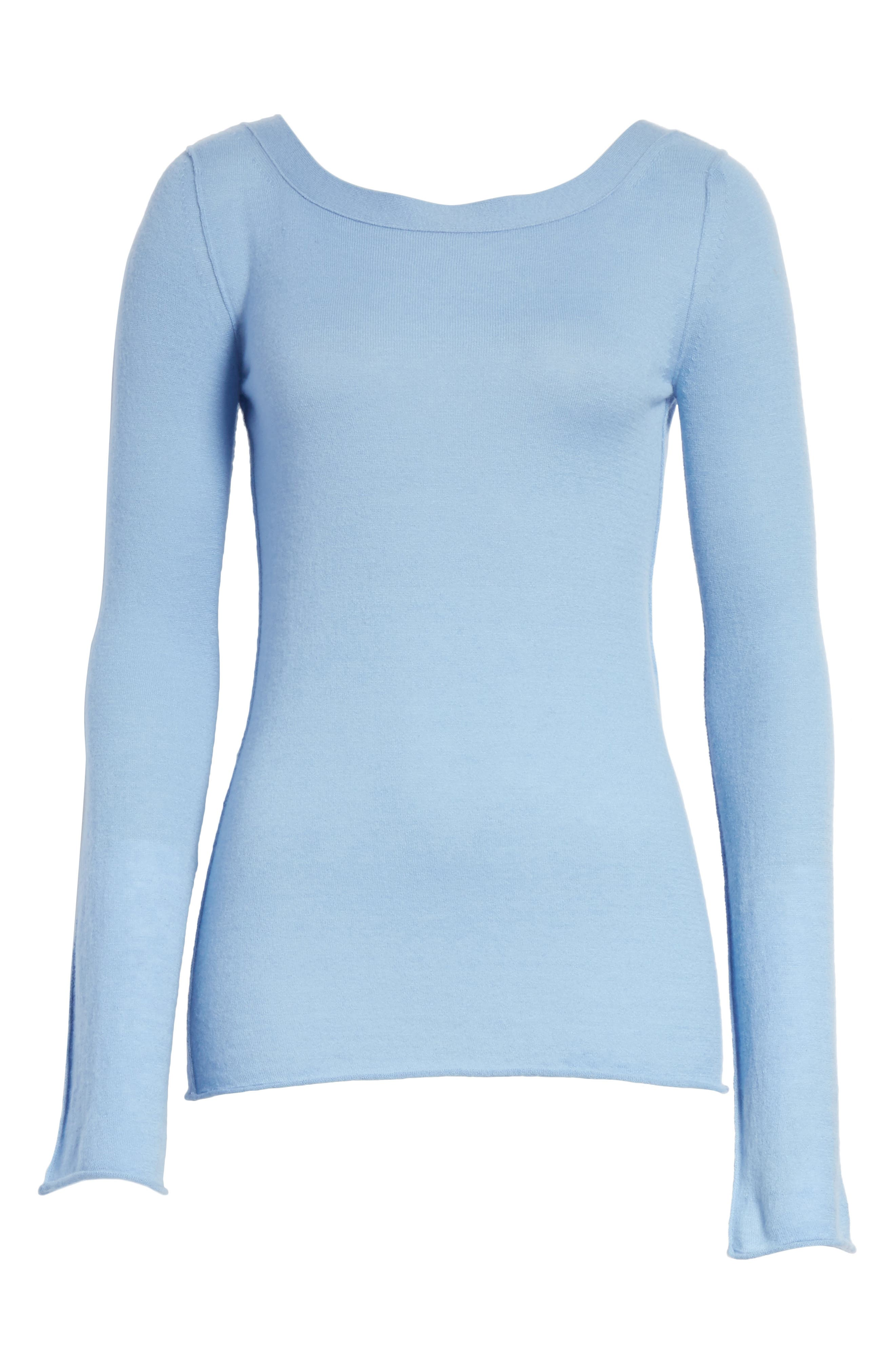 Alternate Image 6  - Vince Cashmere V-Back Cashmere Sweater