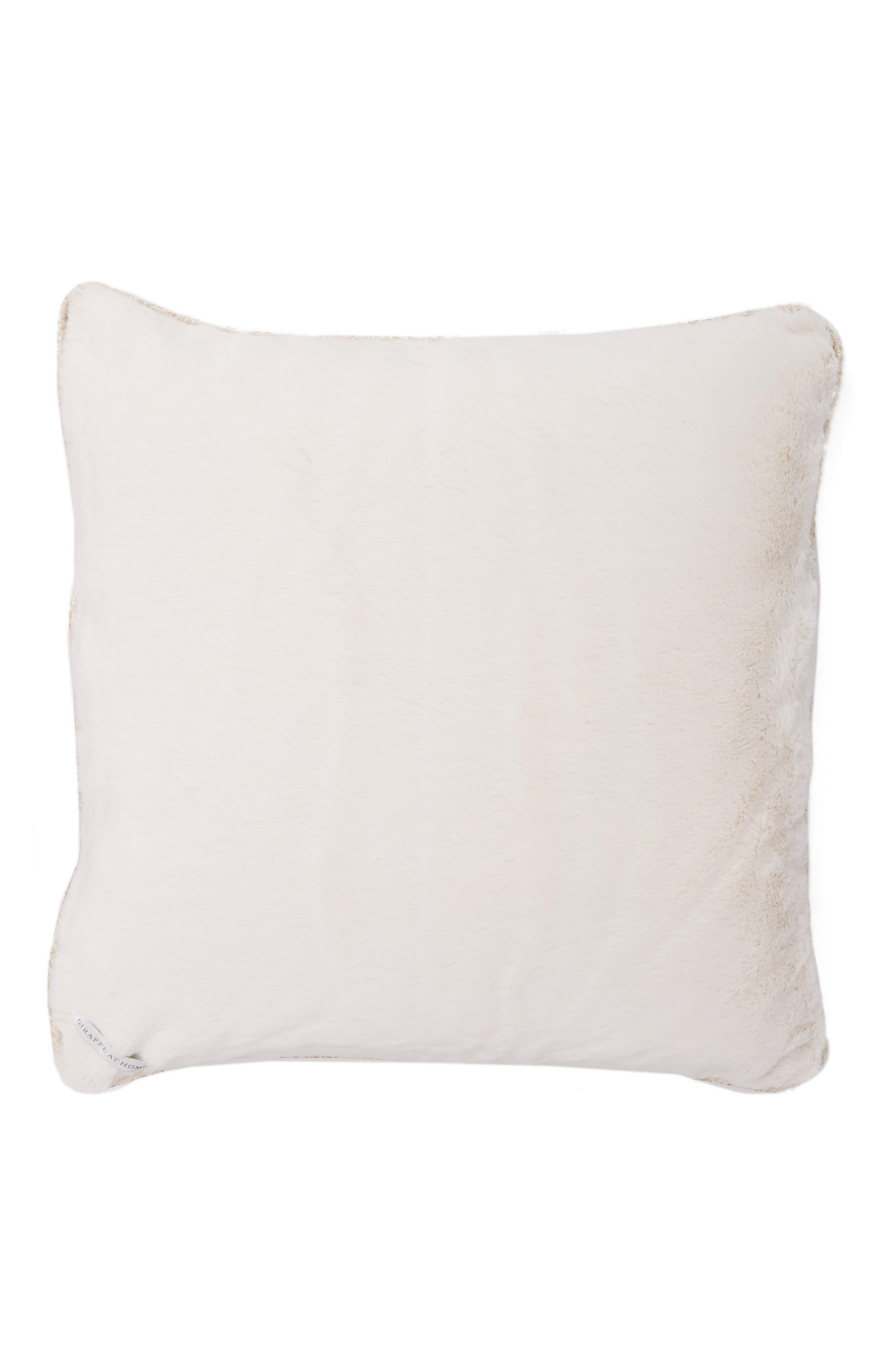 Main Image - Giraffe at Home Luxe™ Lustre Pillow