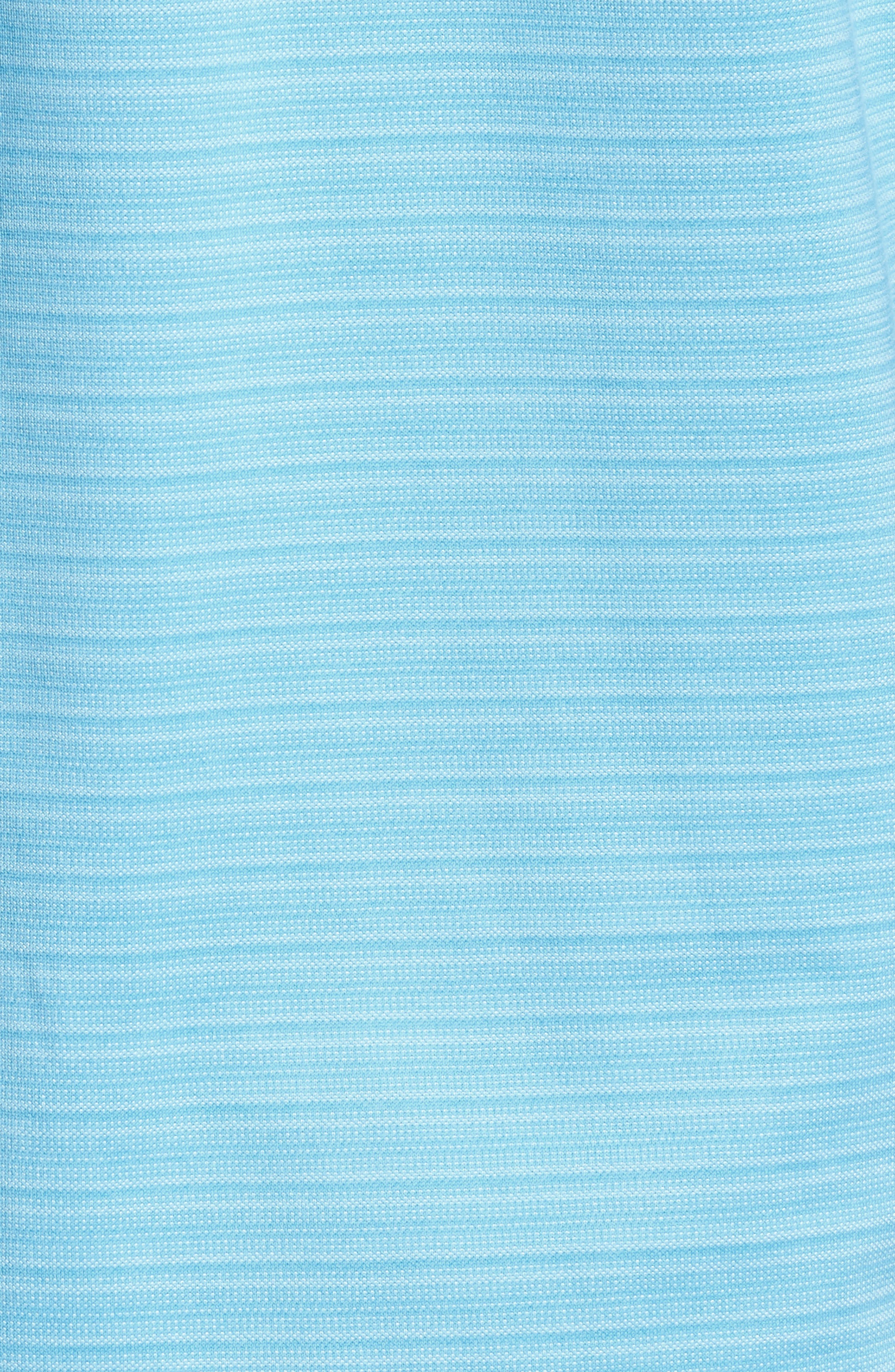 New On Par Stripe Polo,                             Alternate thumbnail 5, color,                             Breeze Blue