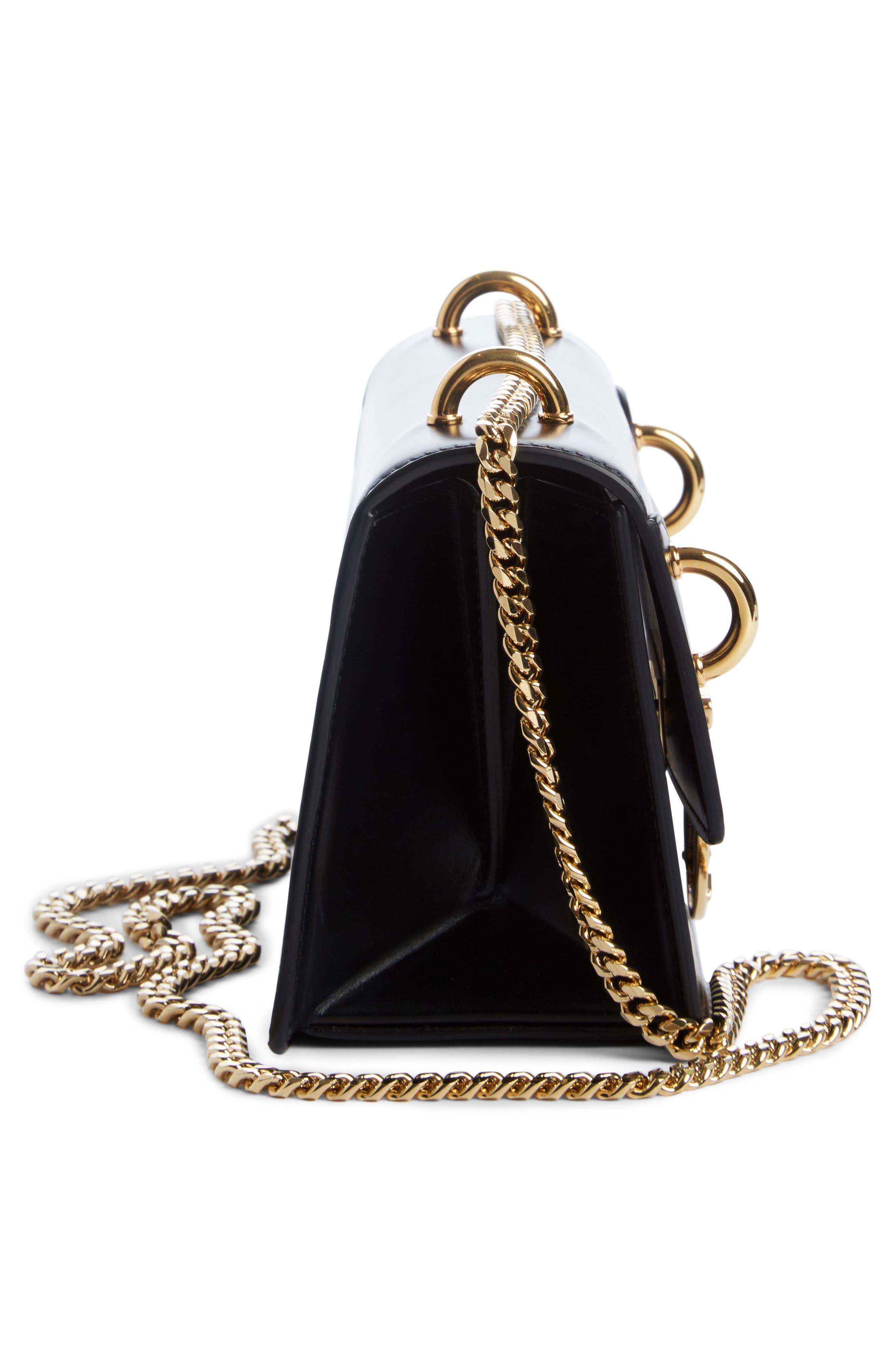 Alternate Image 3  - Balmain Glace Leather Box Shoulder Bag