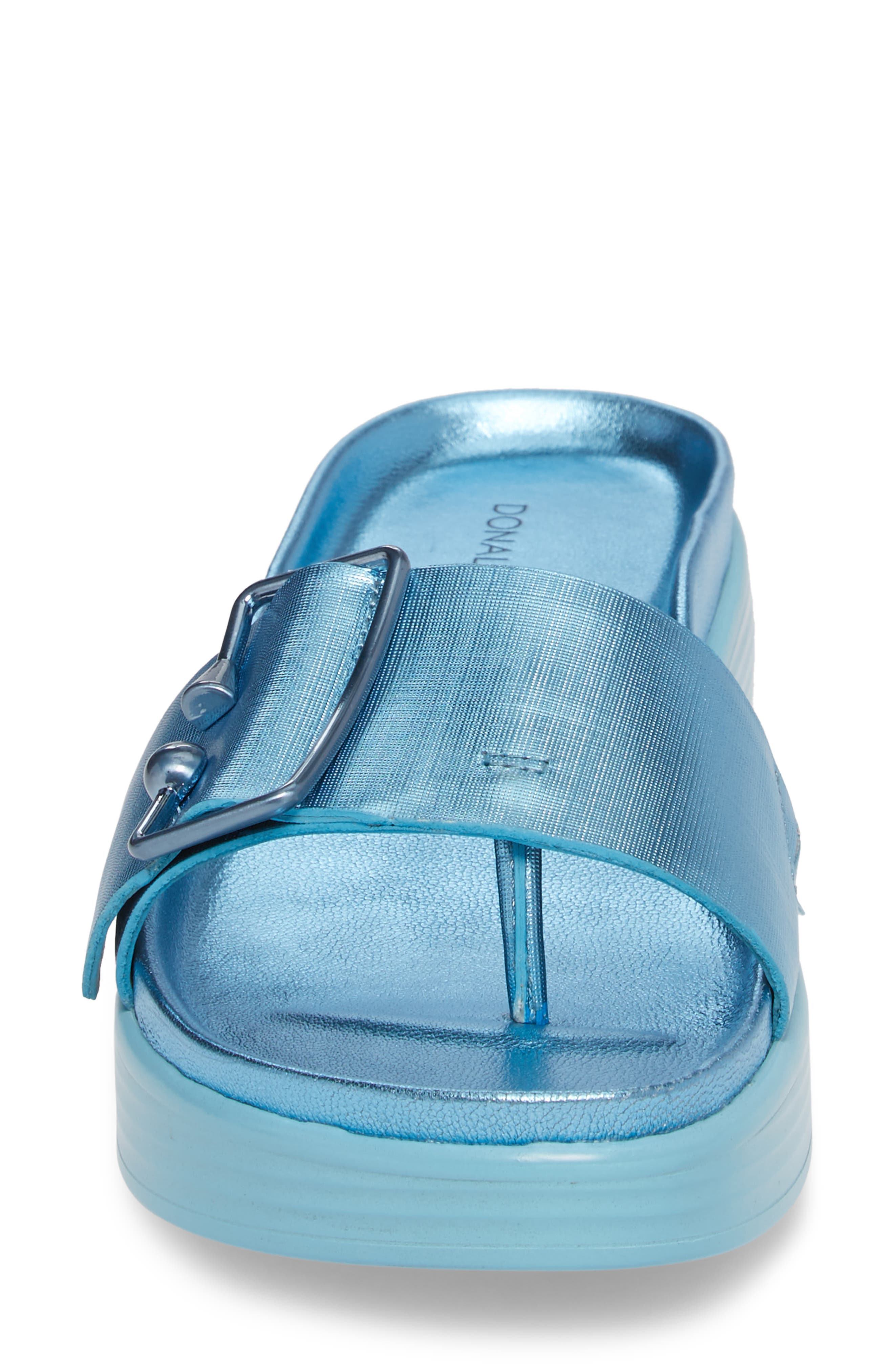 Alternate Image 4  - Donald Pliner Fara Platform Slide Sandal (Women)