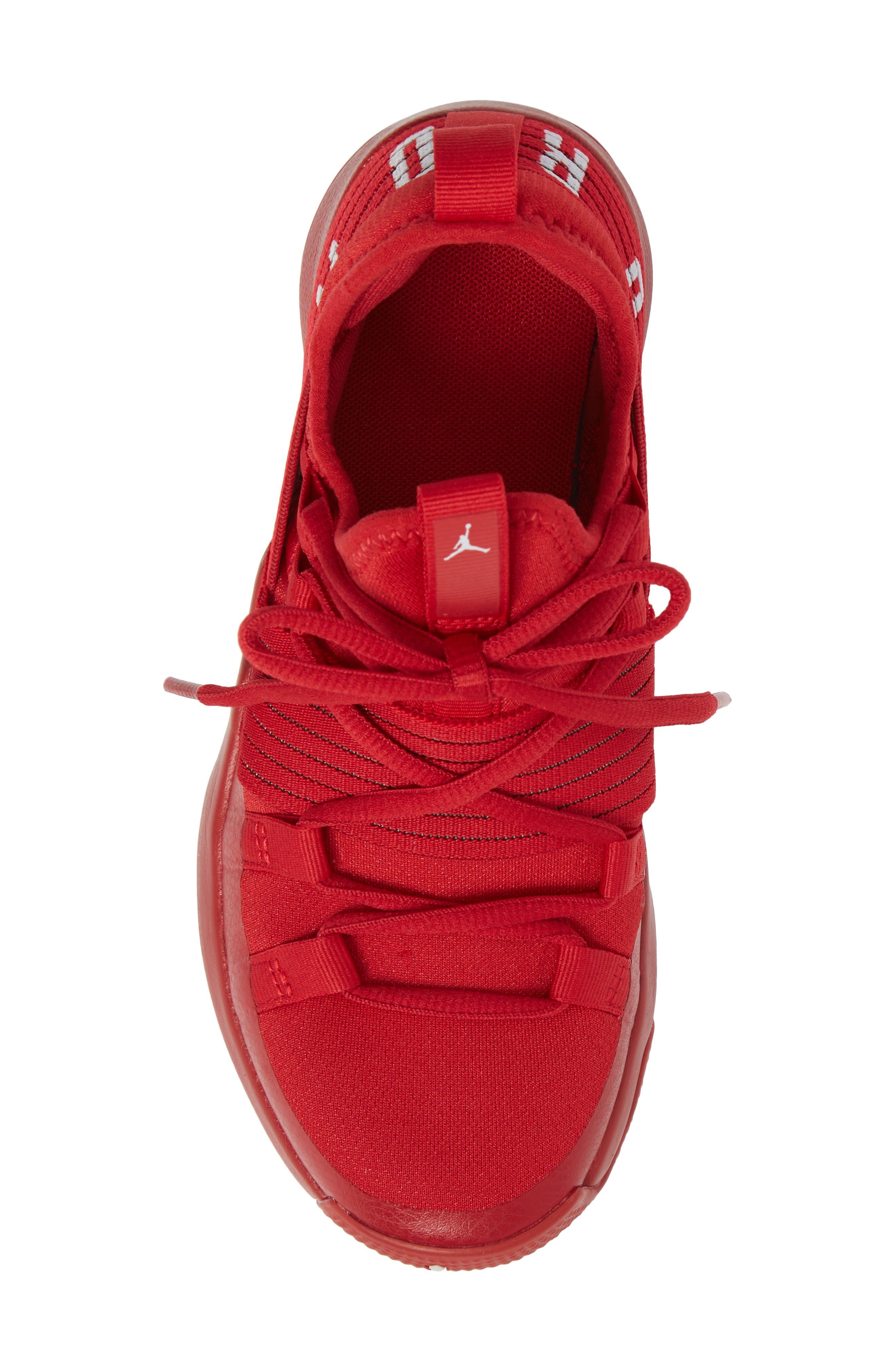 Trainer Pro Training Shoe,                             Alternate thumbnail 5, color,                             Gym Red/ Pure Platinum