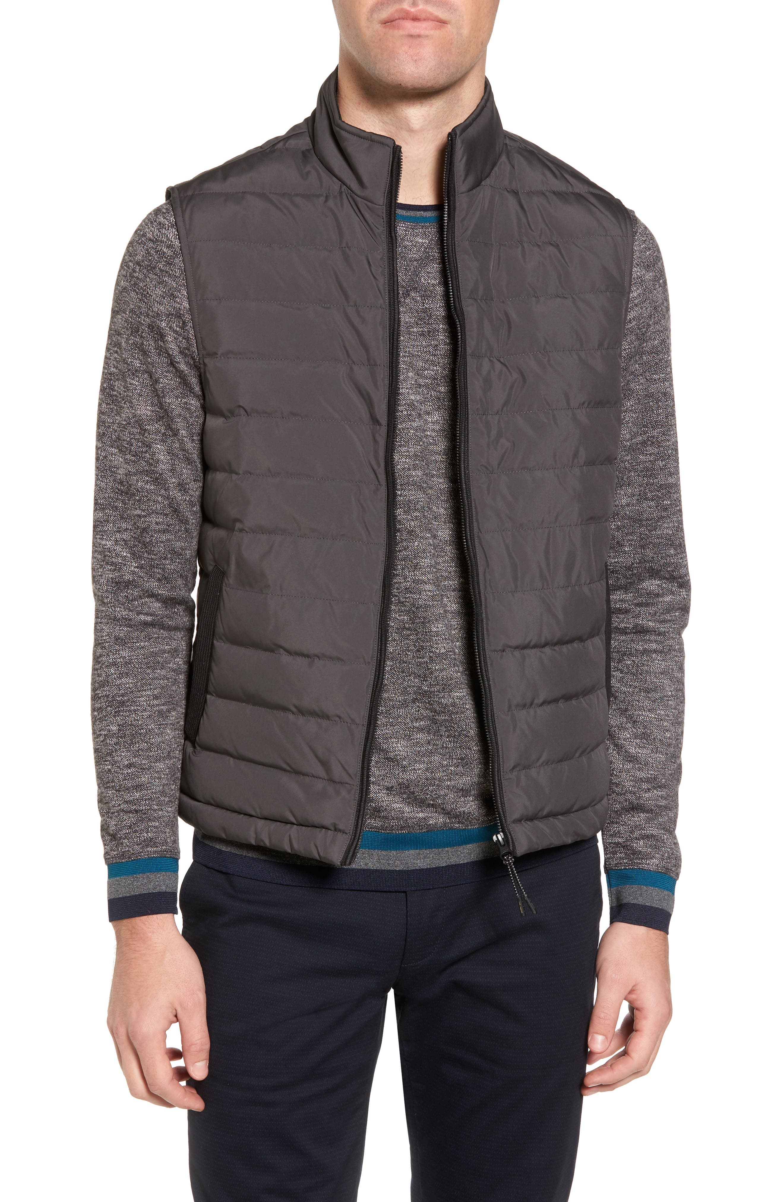 Alternate Image 1 Selected - Ted Baker London Jozeph Quilted Down Vest