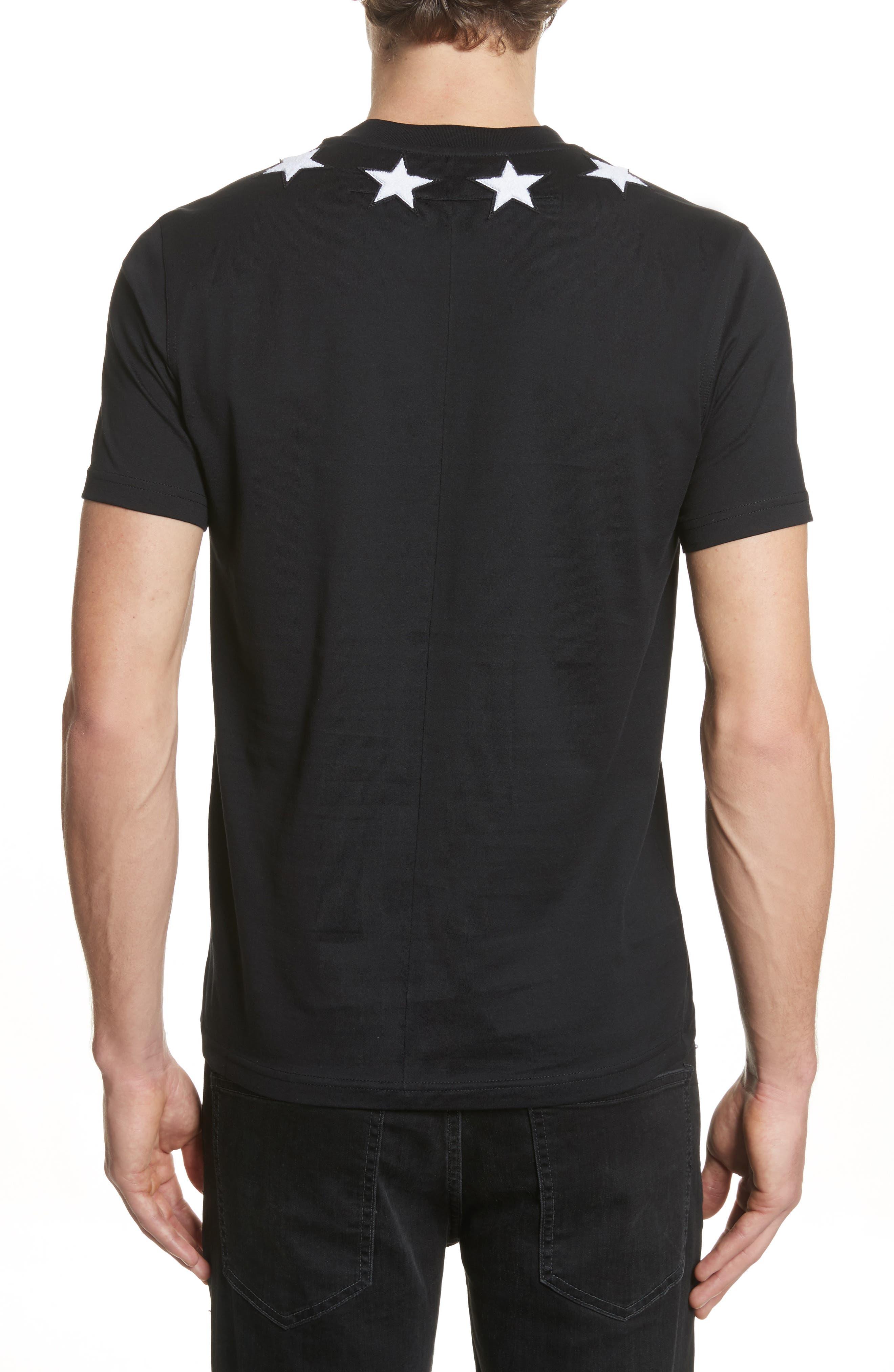 Alternate Image 2  - Givenchy Star Appliqué T-Shirt