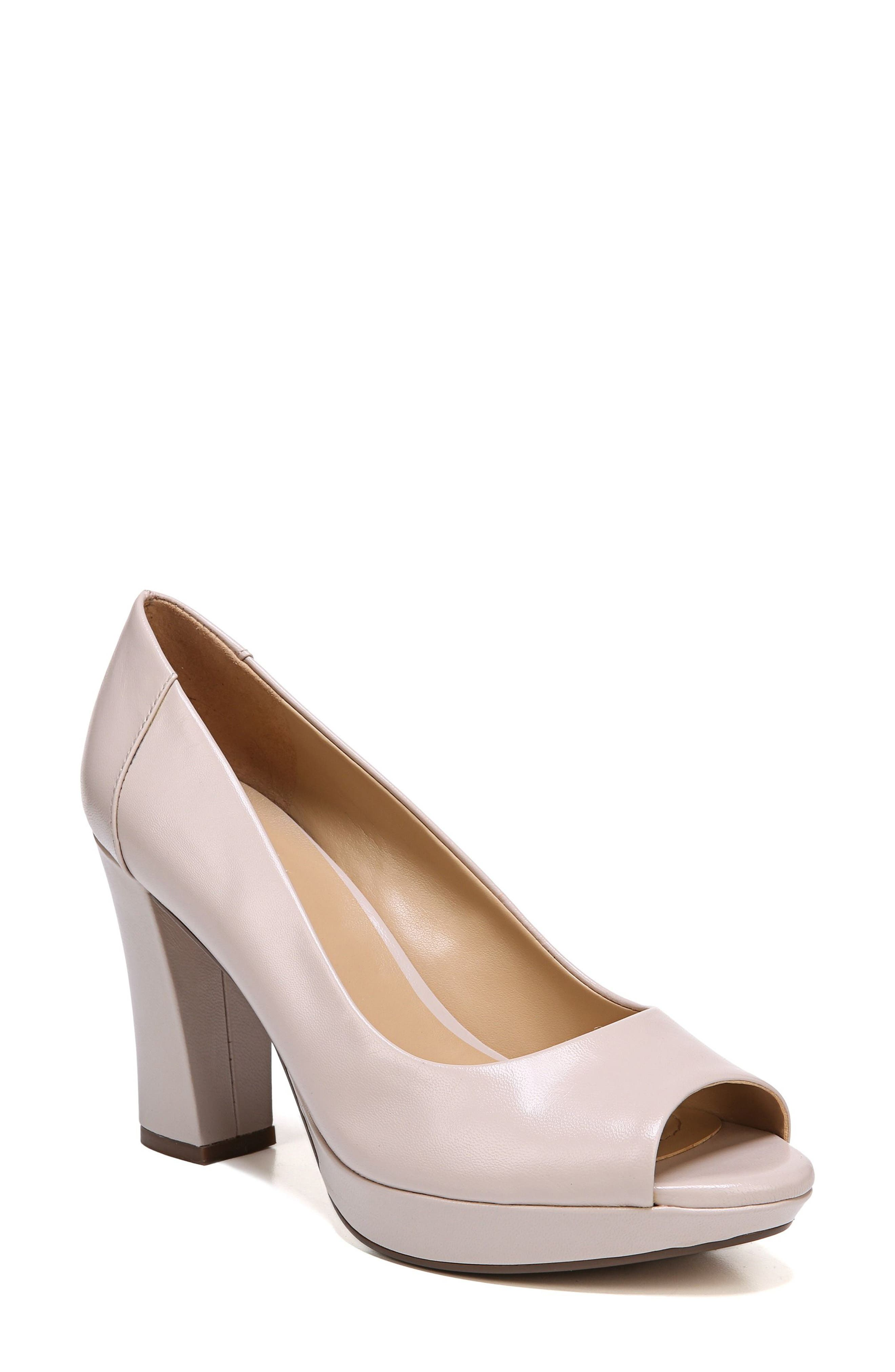 Amie Pump,                         Main,                         color, Soft Marble Leather
