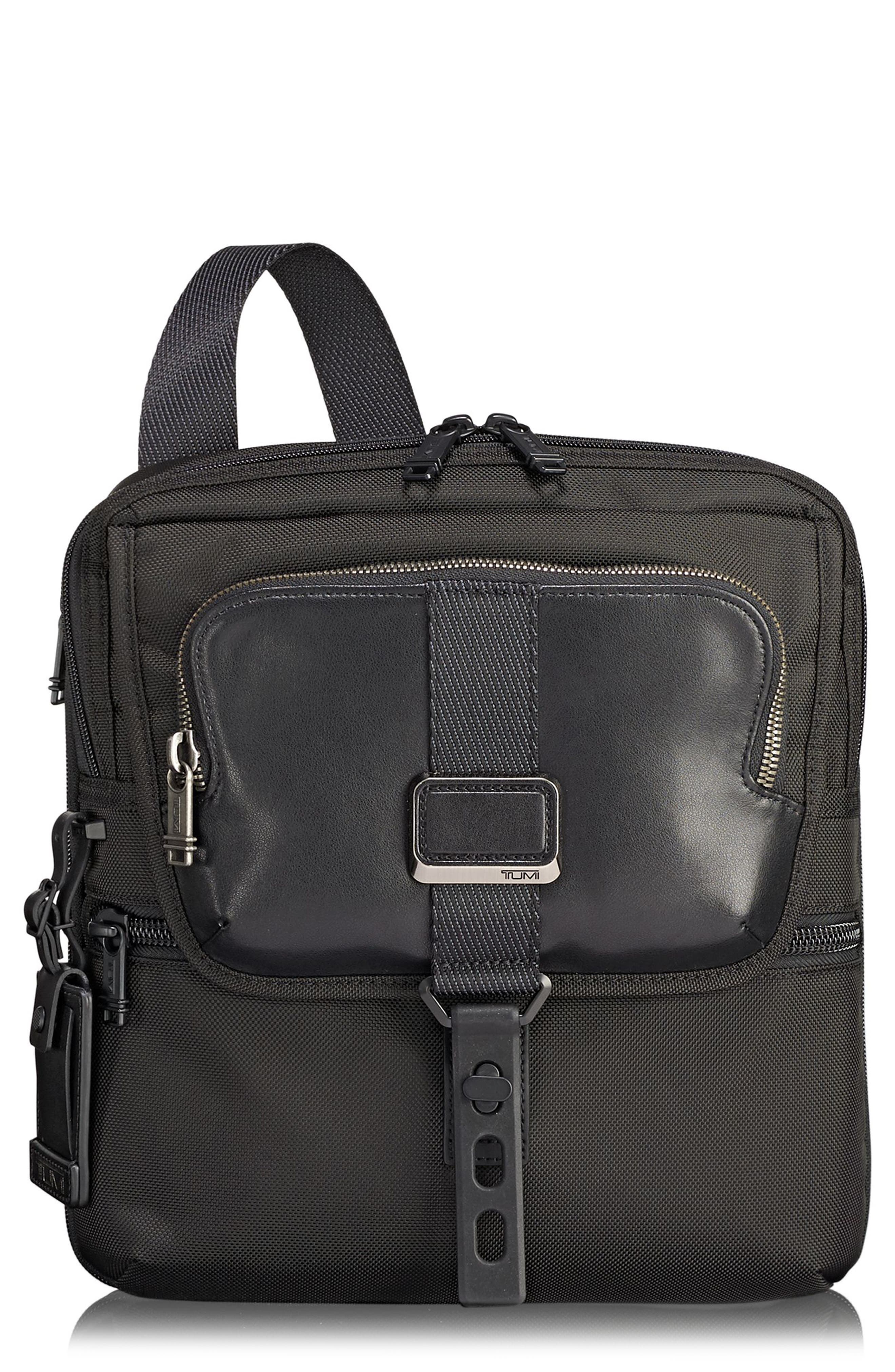 Alpha Bravo - Arnold Messenger Bag,                             Main thumbnail 1, color,                             Black