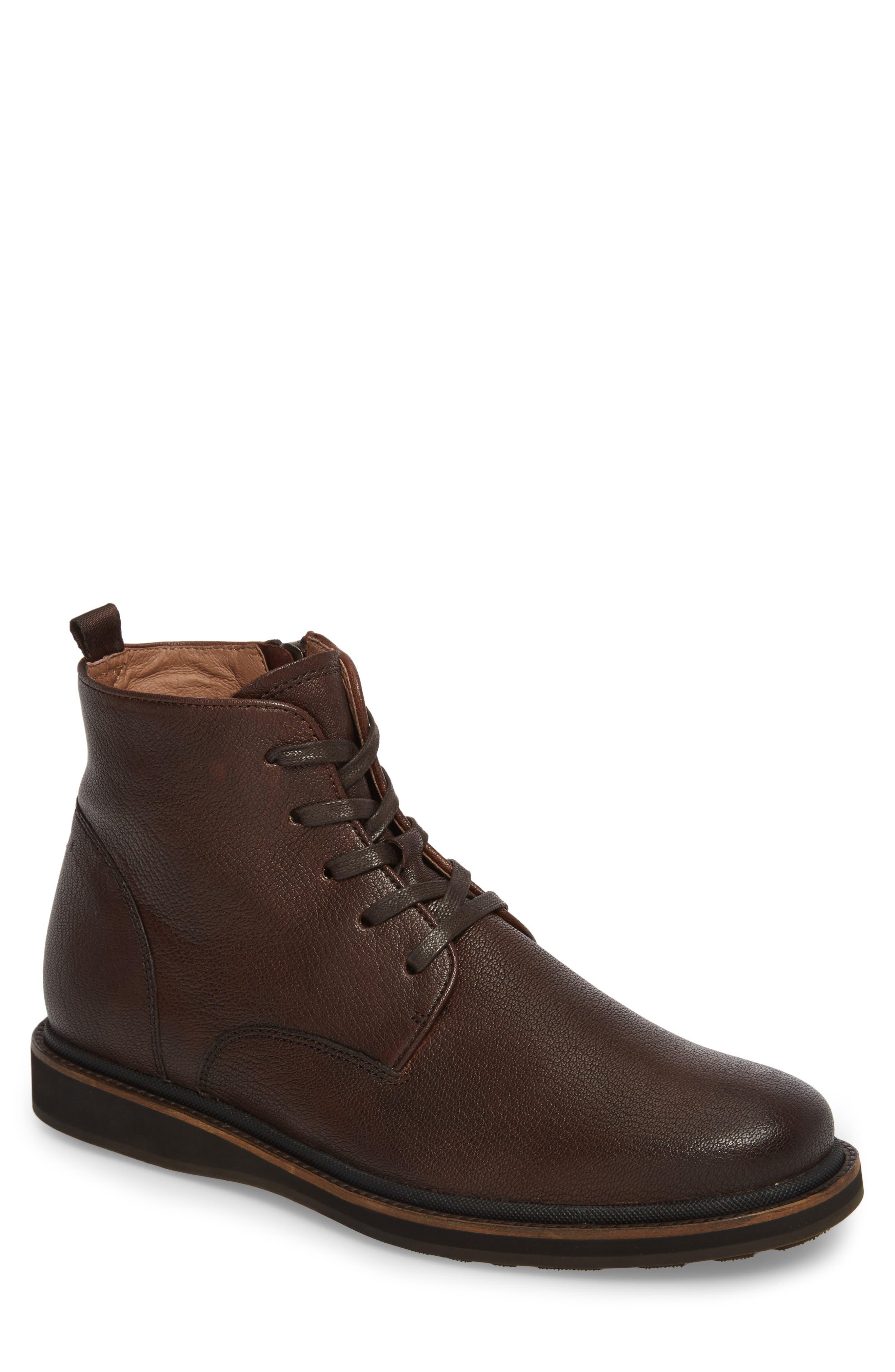 John Varvatos Star USA Brooklyn Plain Toe Boot (Men)
